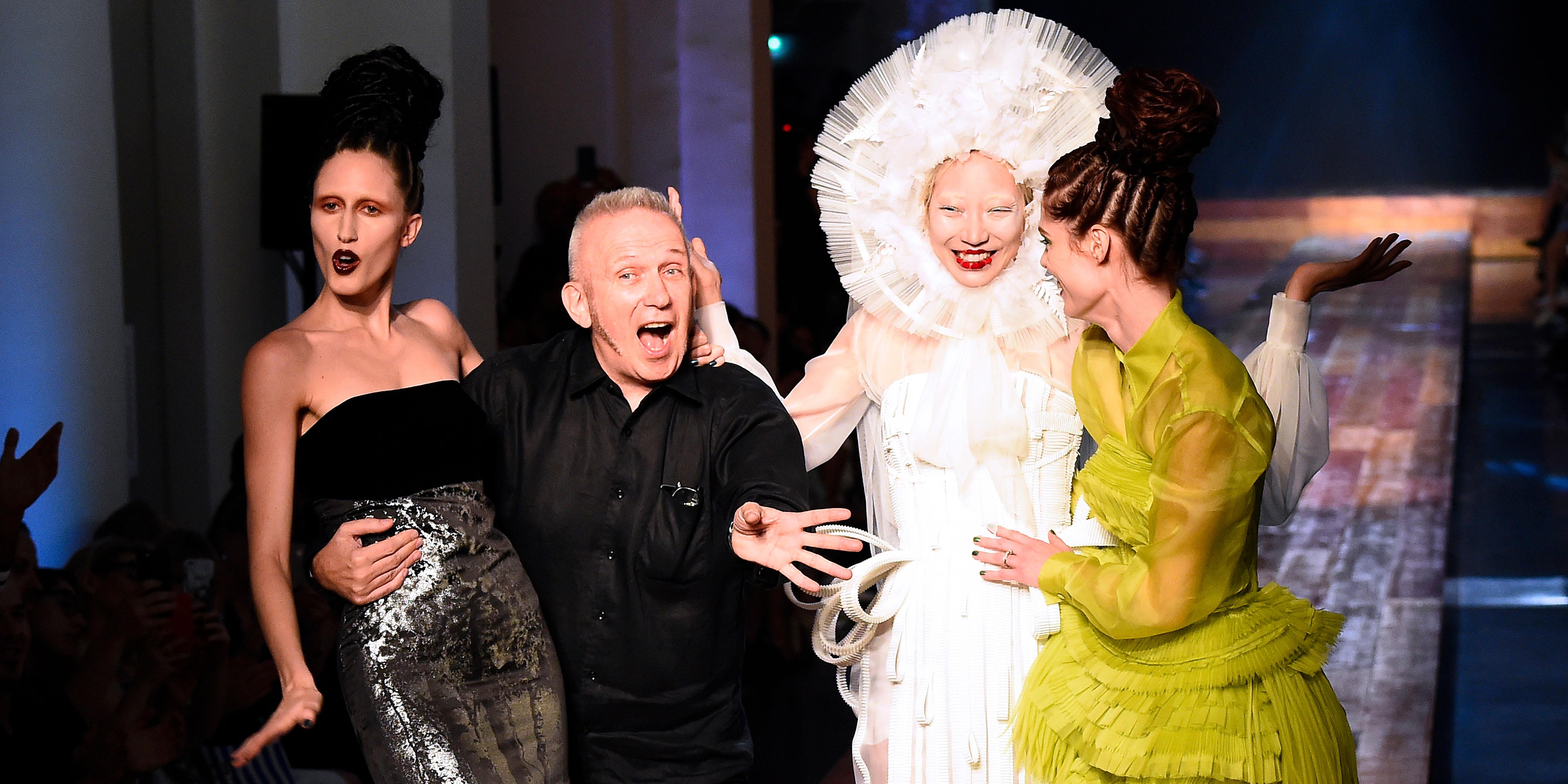 """Jean-Paul Gaultier, """"l'enfant terrible de la mode"""", tire sa révérence"""