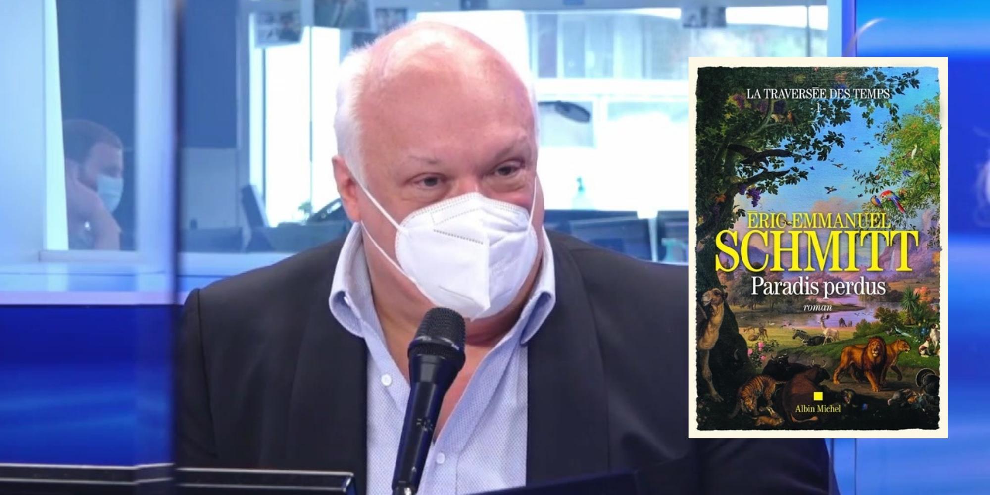 """Eric-Emmanuel Schmitt dévoile son """"projet fou"""" pour écrire l'histoire de l'humanité"""