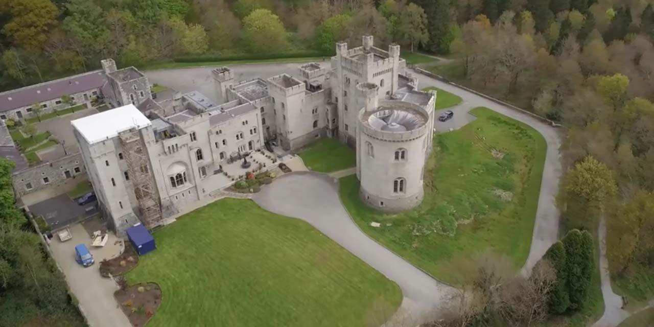 """irlande du nord : un château de """"game of thrones"""" est mis en vente"""