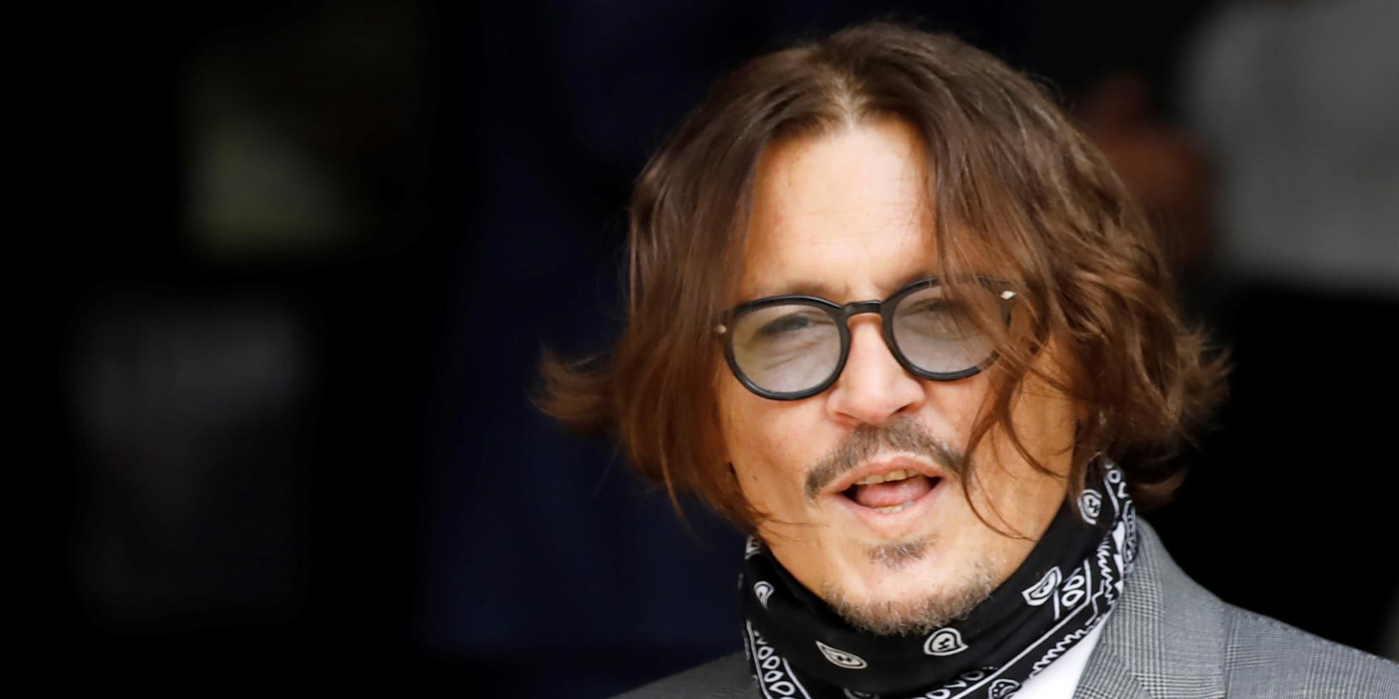 Johnny Depp assure n'avoir jamais frappé son ex-femme Amber Heard, même délesté de sa fortune