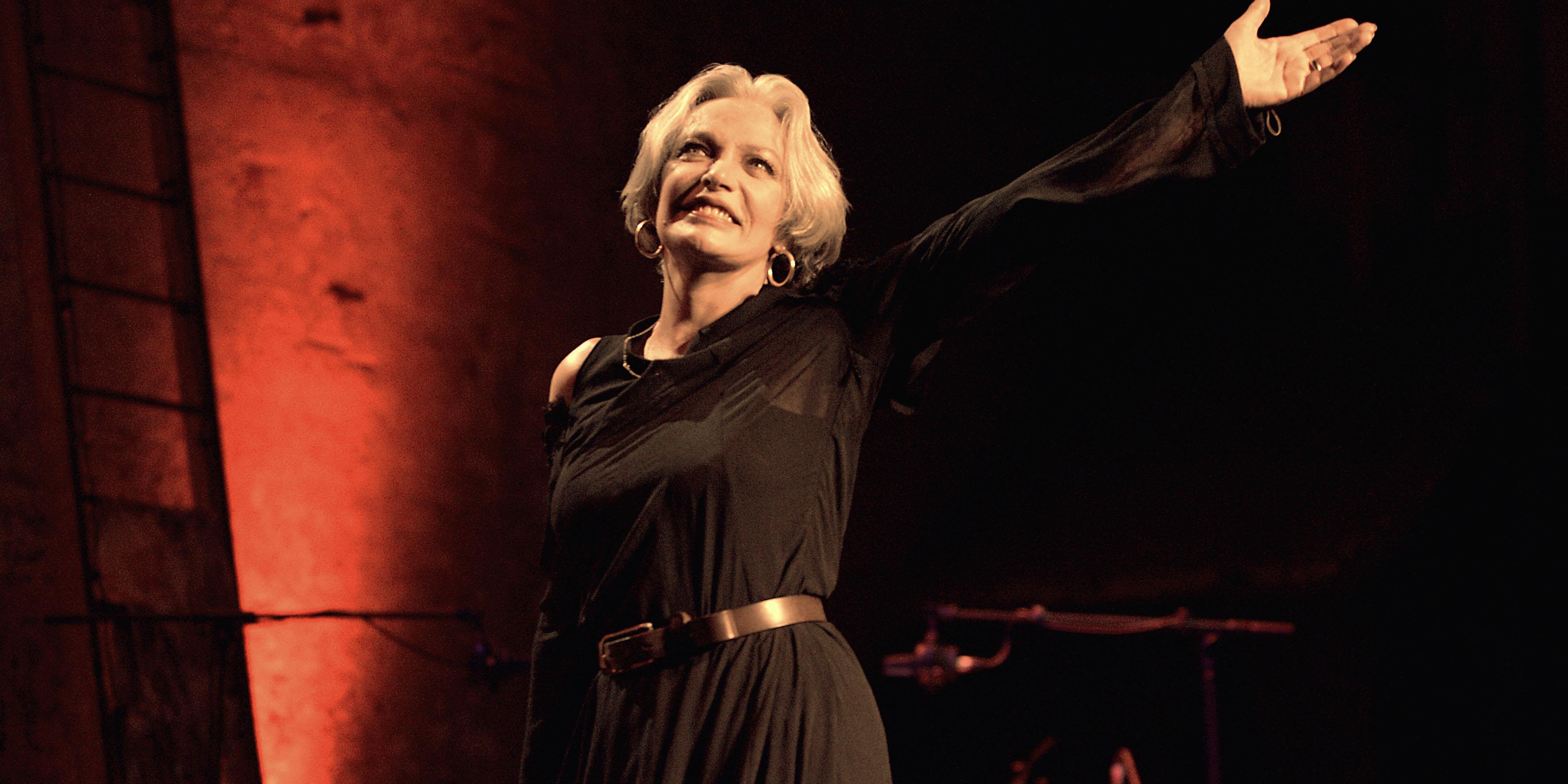 La chanteuse et actrice Marie Laforêt, interprète des
