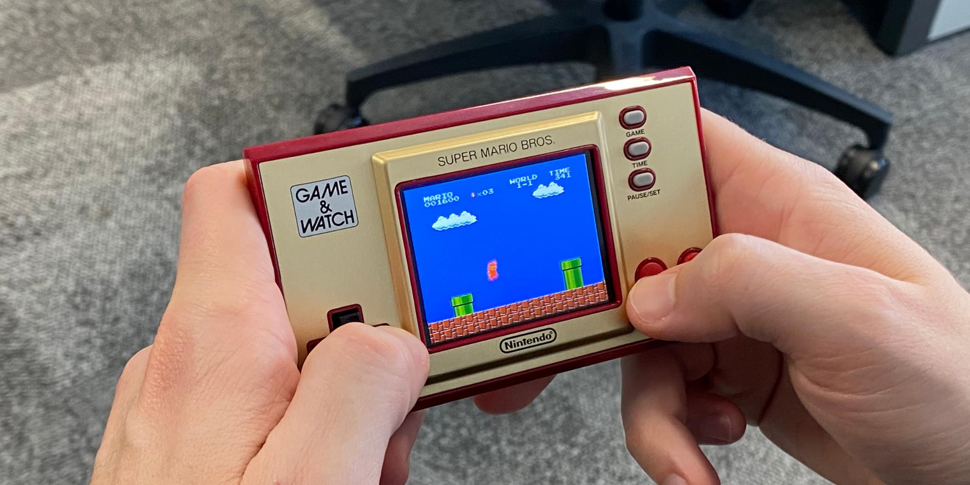 Nintendo réédite la Game & Watch, cadeau idéal pour les nostalgiques de Super Mario Bros.
