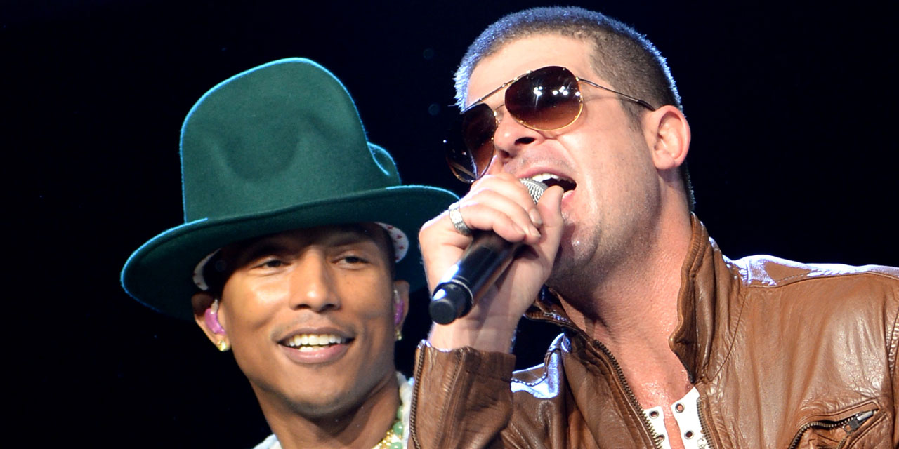 Robin Thicke and Pharrell Williams have been definitively sentenced for Marvin  Gaye's plagiarism in their hit Blurred Lines , and will have to pay nearly  ...