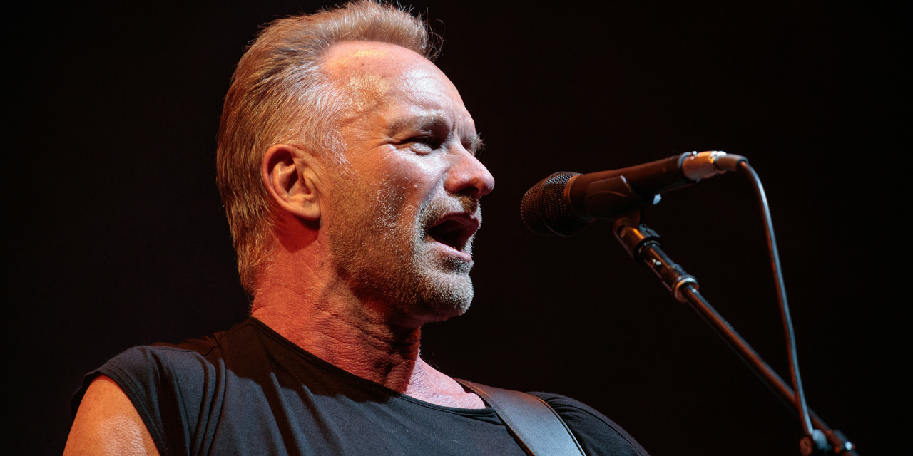 Sting on his new album