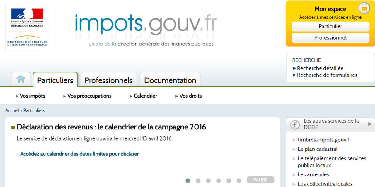 Impots Gouv Fr 2016 Simulation Quiedom