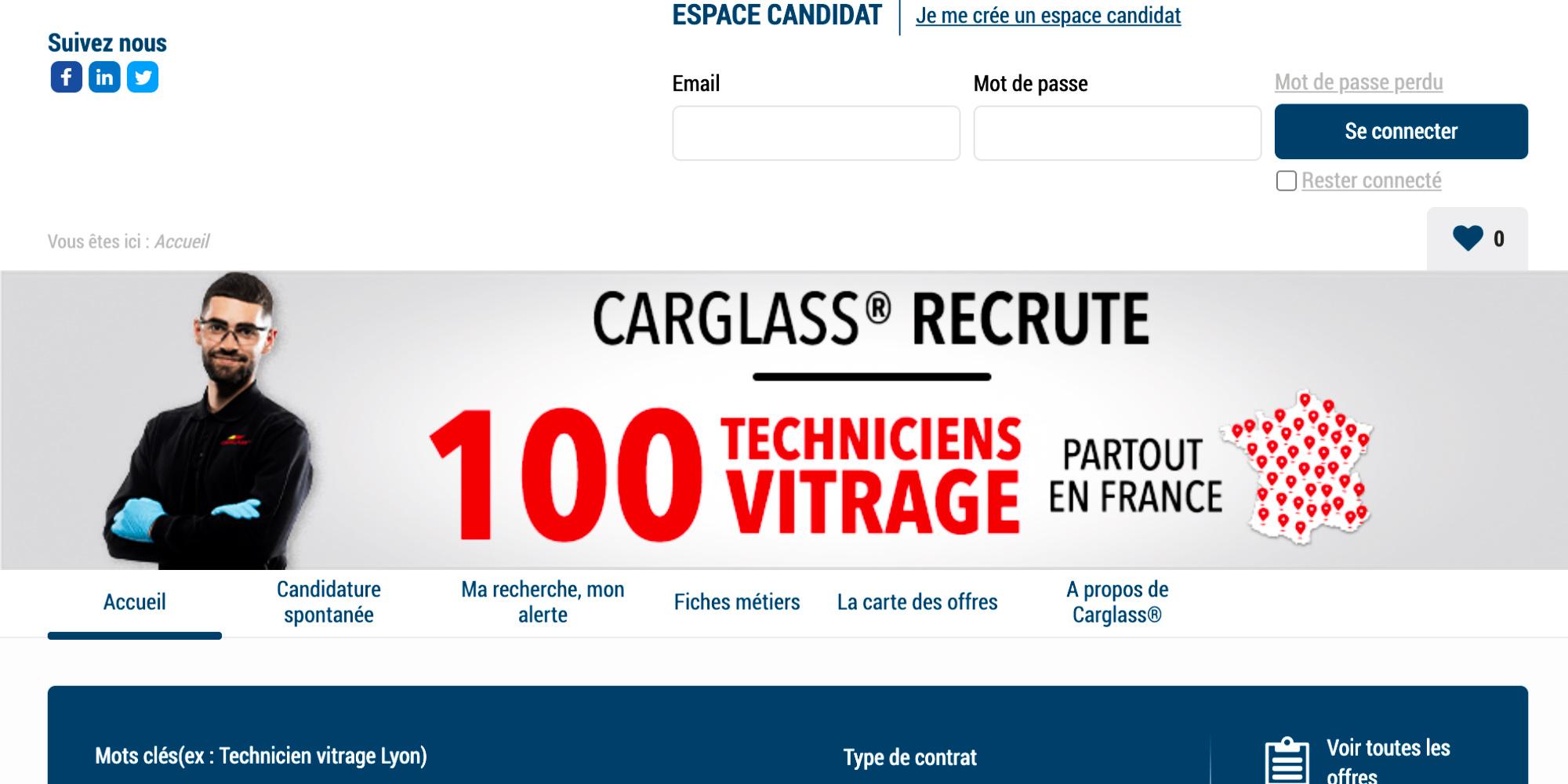 L'entreprise Carglas...