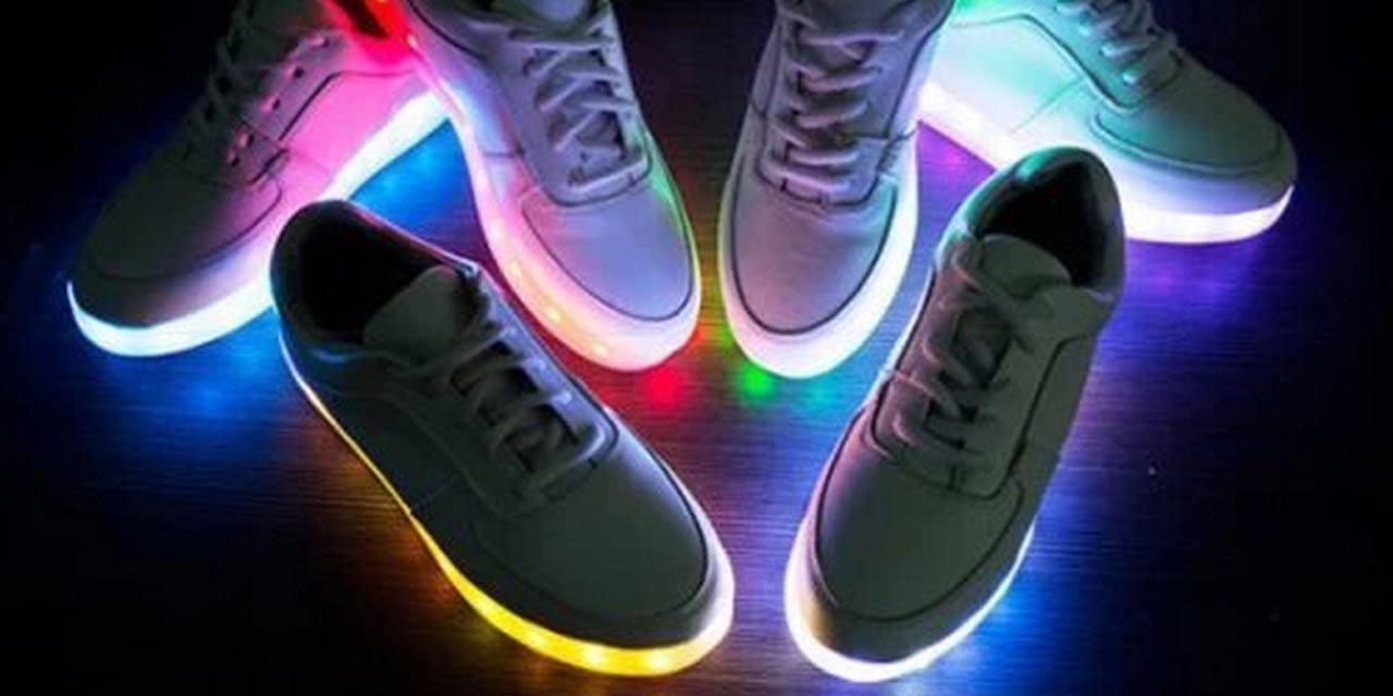 Elles Chaussures Lumineuses Dangereuses Les Sont HEDIW29Y