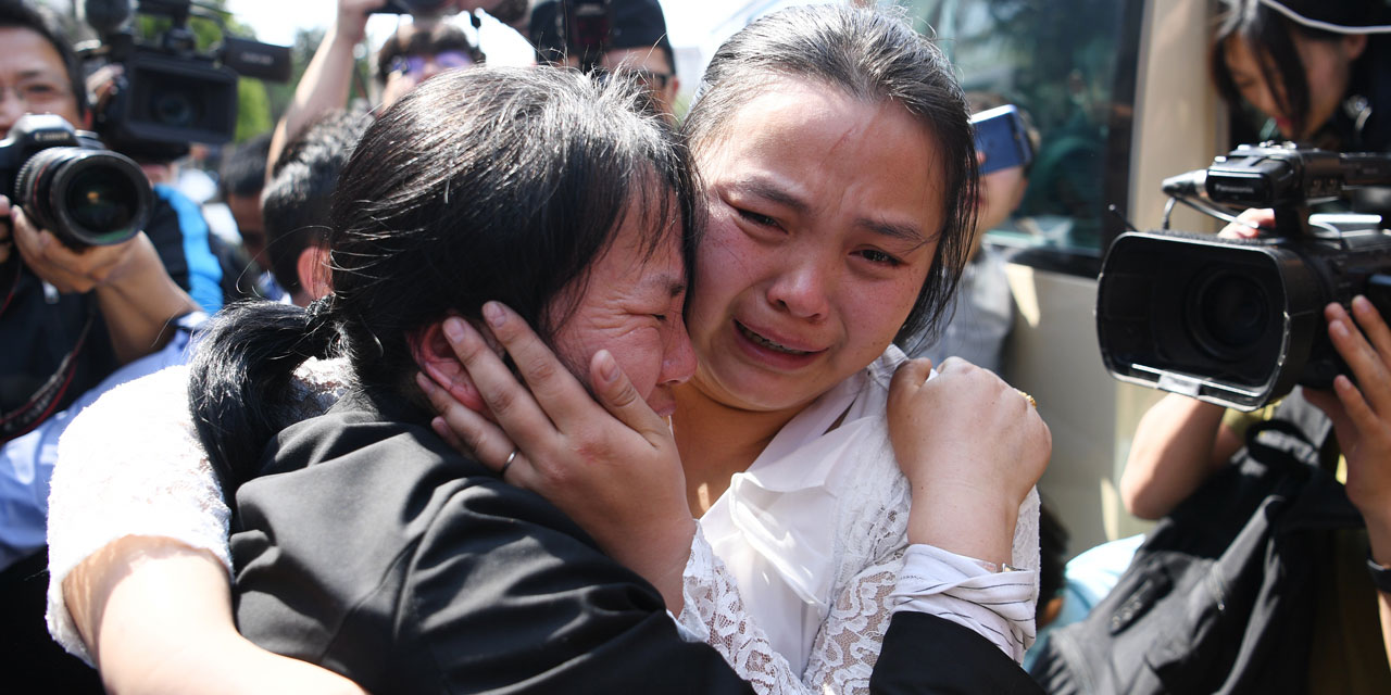 Chine Une Enfant Retrouvee 24 Ans Apres Sa Disparition