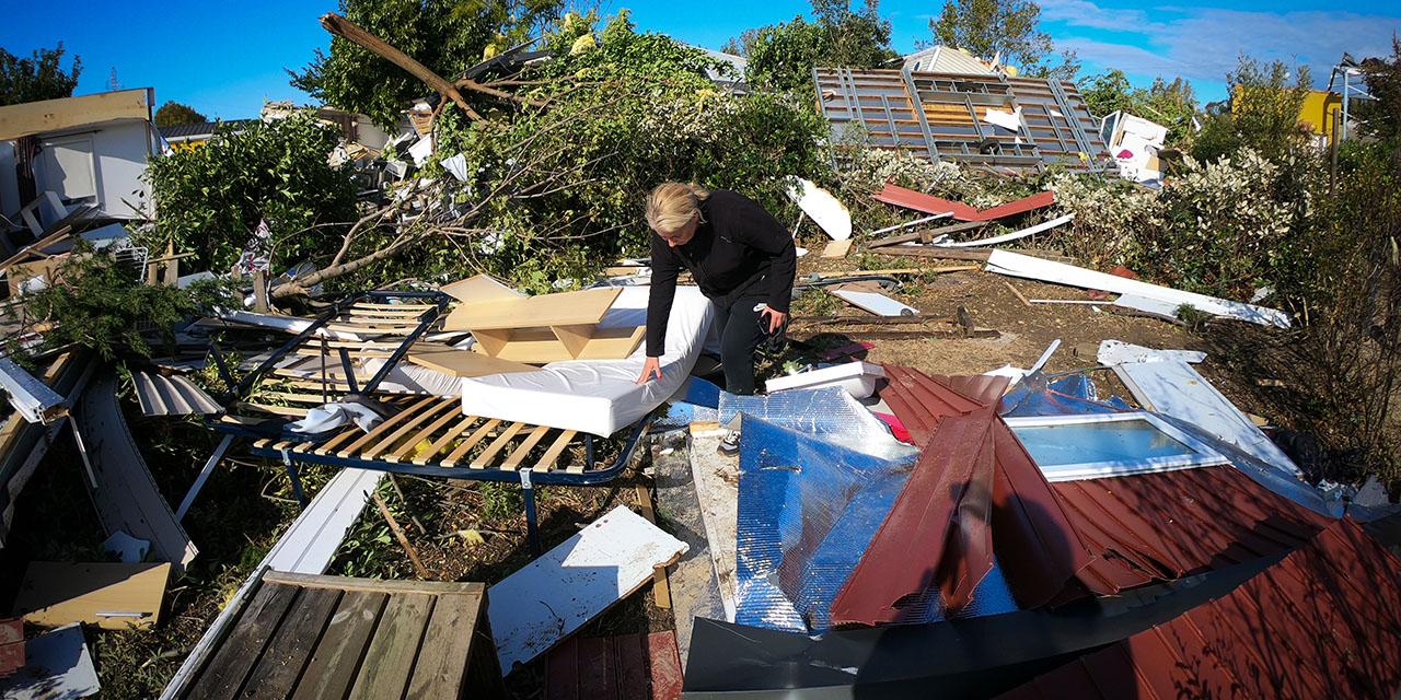 Arles : une tornade blesse cinq personnes et fait de gros dégâts matériels