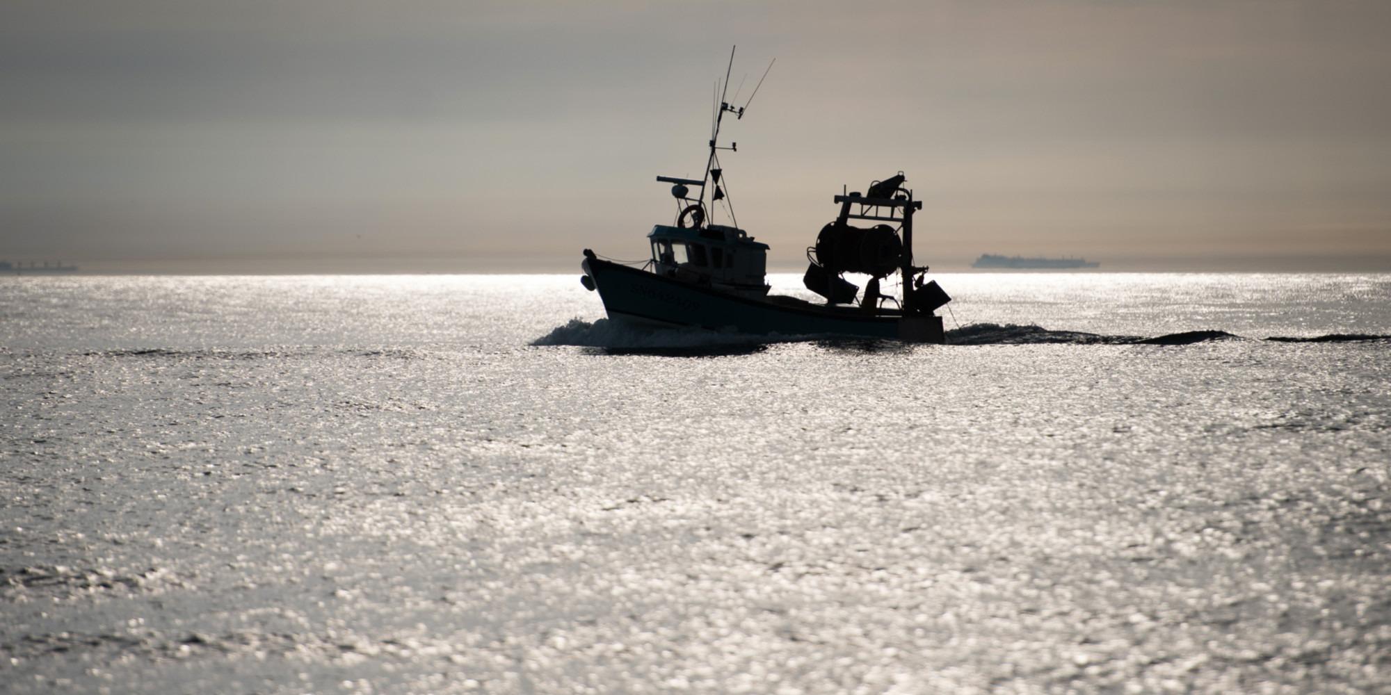 Trois marins-pêcheurs disparus en mer au large du Calvados