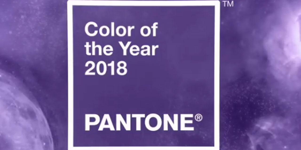 Couleur Pantone De L Année 2017 selon pantone, la couleur de l'année 2018 sera l'ultra violet
