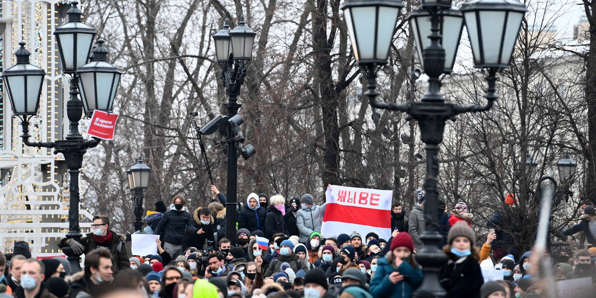 """Arrestations en Russie : Paris dénonce une atteinte """"insupportable"""" à l'Etat de droit"""