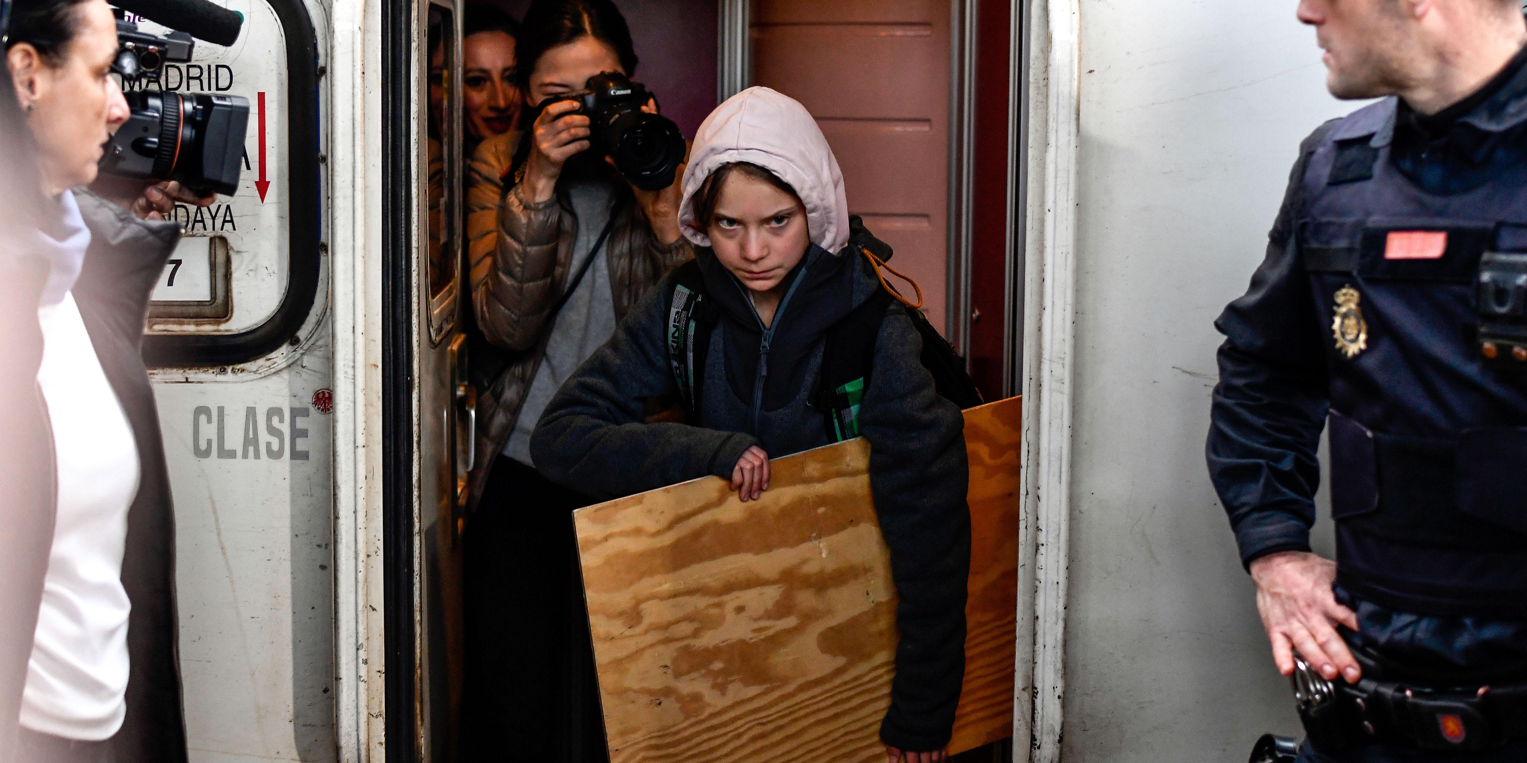 COP25 : une marche pour le climat boostée par la présence de Greta Thunberg