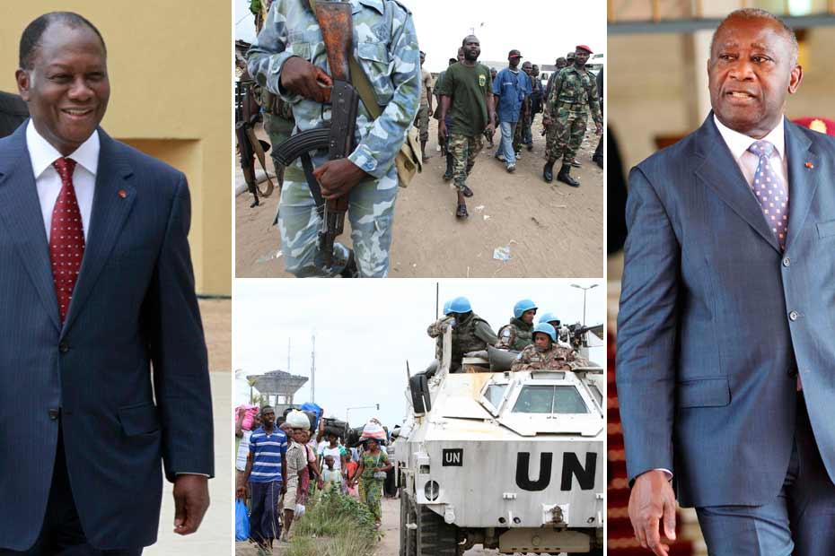 Côte d'Ivoire : une crise politique devenue militaire