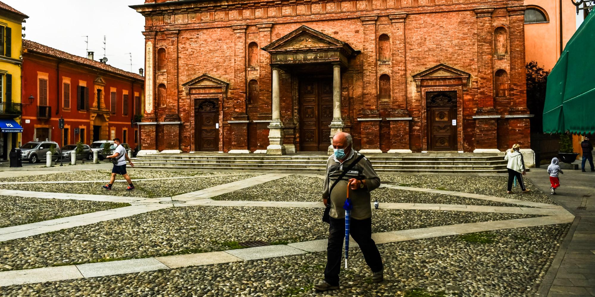 Vague de Covid en Italie : un an après, la ville de Codogno toujours meurtrie