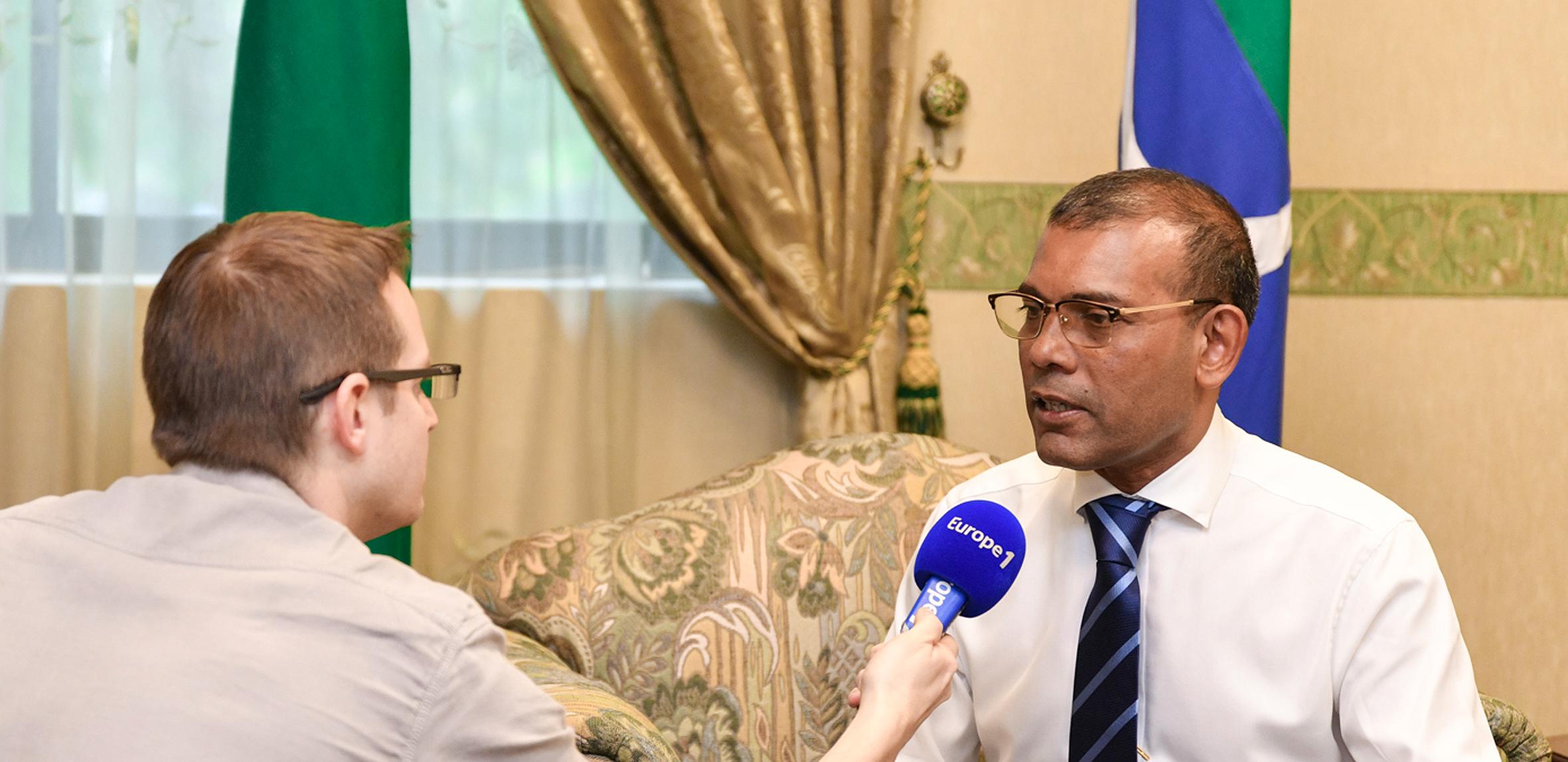 """""""Depuis ces 50 dernières années, une version très radicale de l'islam se répand aux Maldives"""", explique Mohamed Nasheed"""
