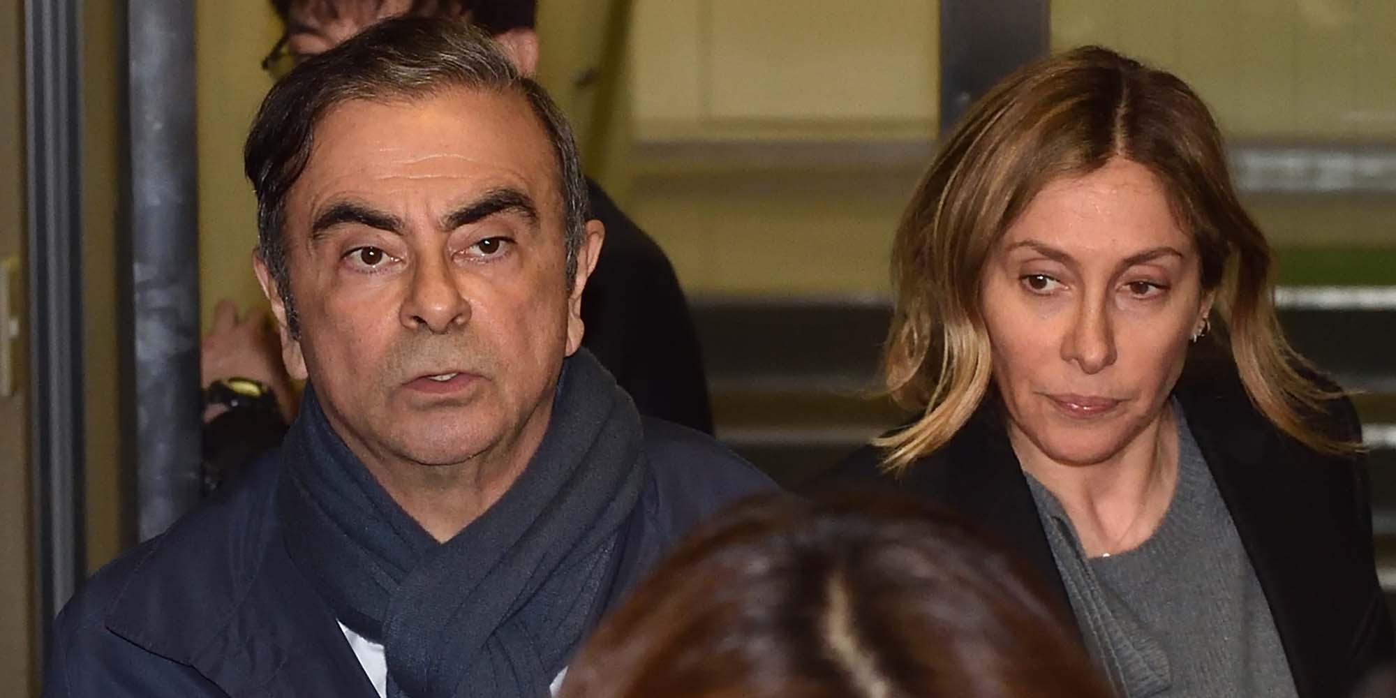 Fuite de Carlos Ghosn : sa femme affirme qu'elle n'était