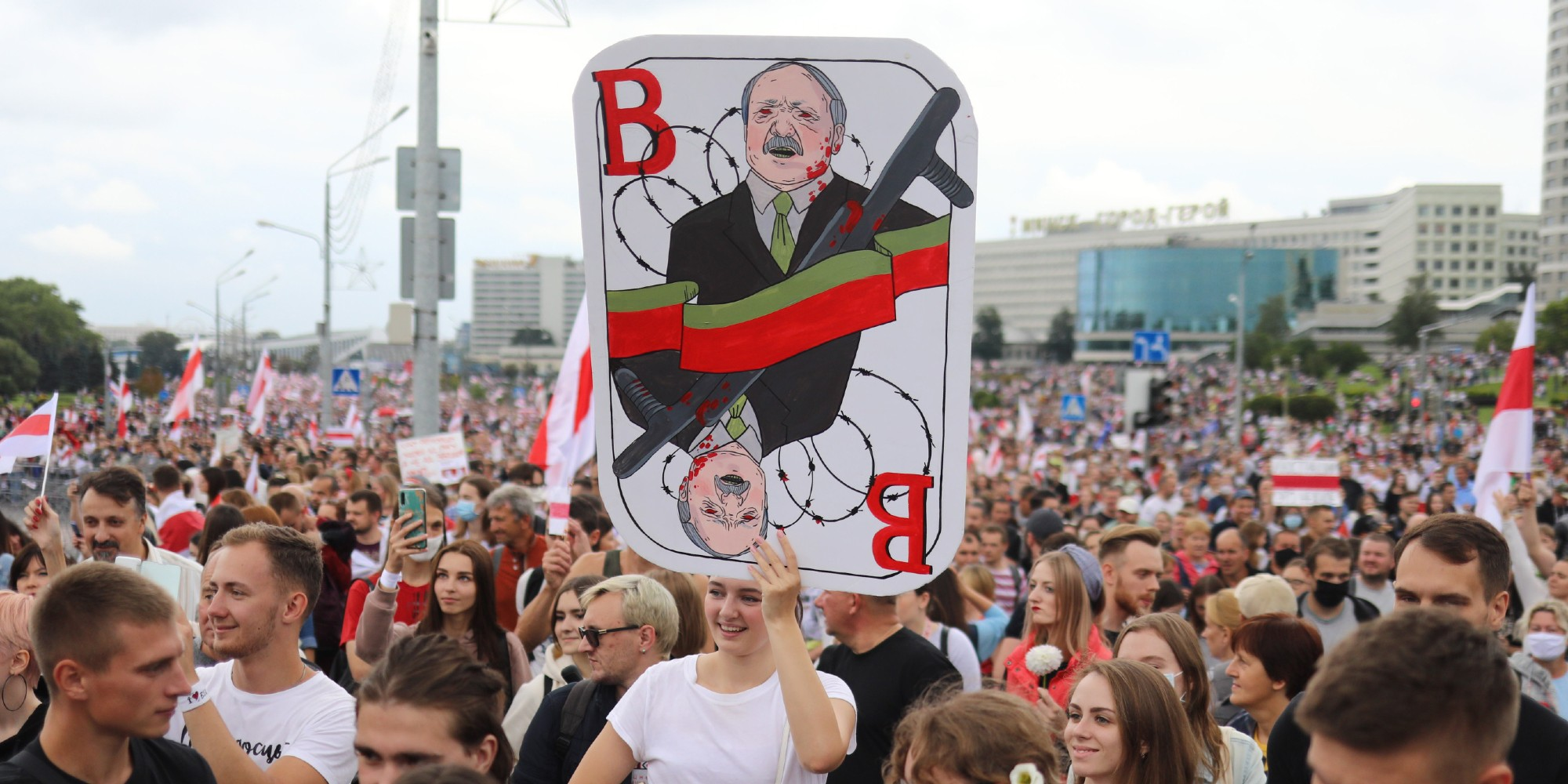 Le prix Sakharov du Parlement européen décerné à l'opposition en Biélorussie