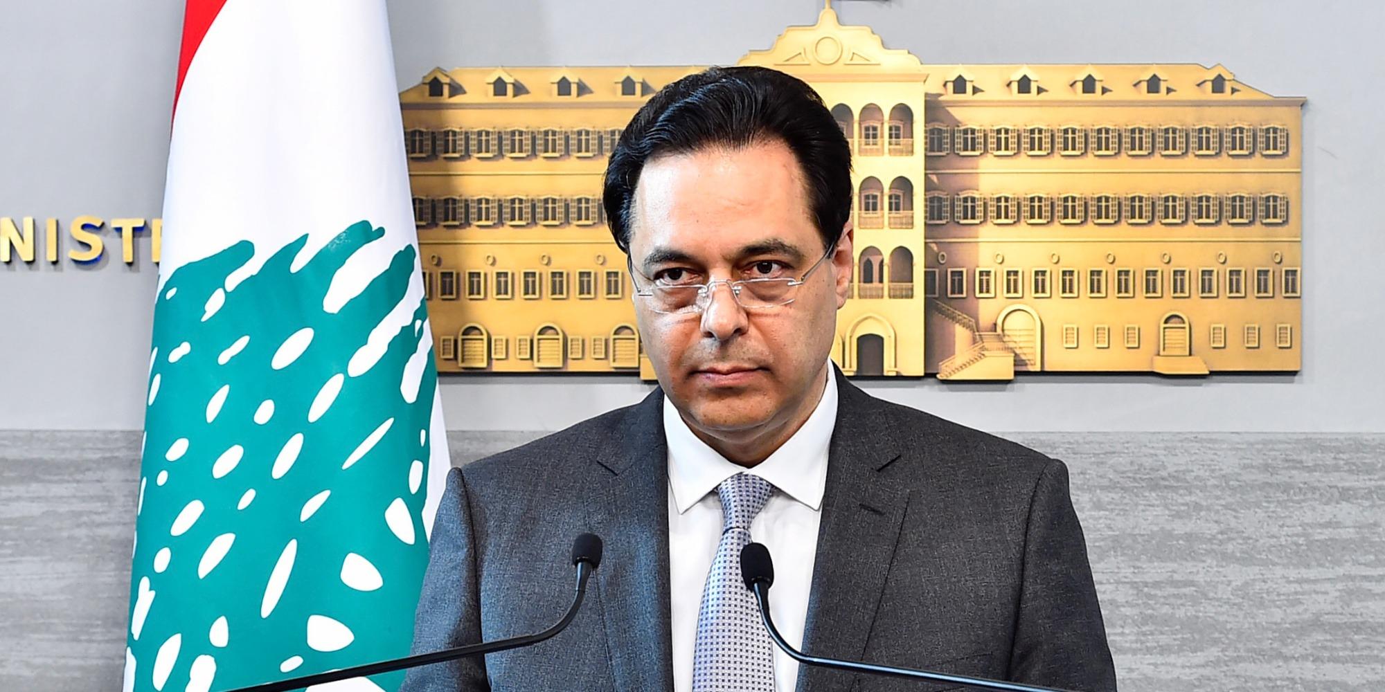 Liban : le Premier ministre va annoncer sous peu la démission du gouvernement