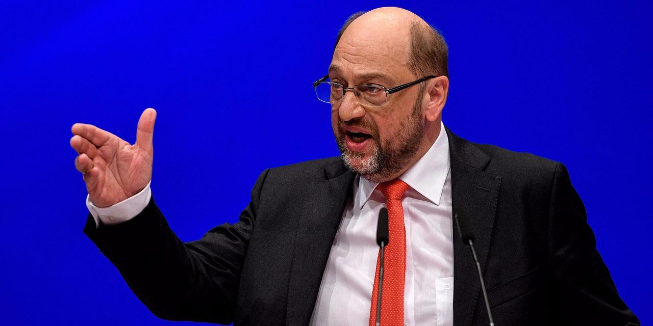 Martin Schulz Sprachfehler