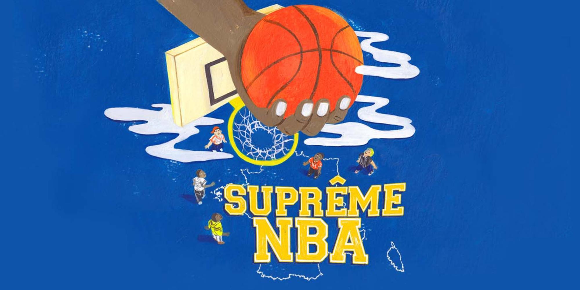 """Arte Radio lance """"Suprême NBA"""" un podcast sur la folie du basket US dans les années 1990"""