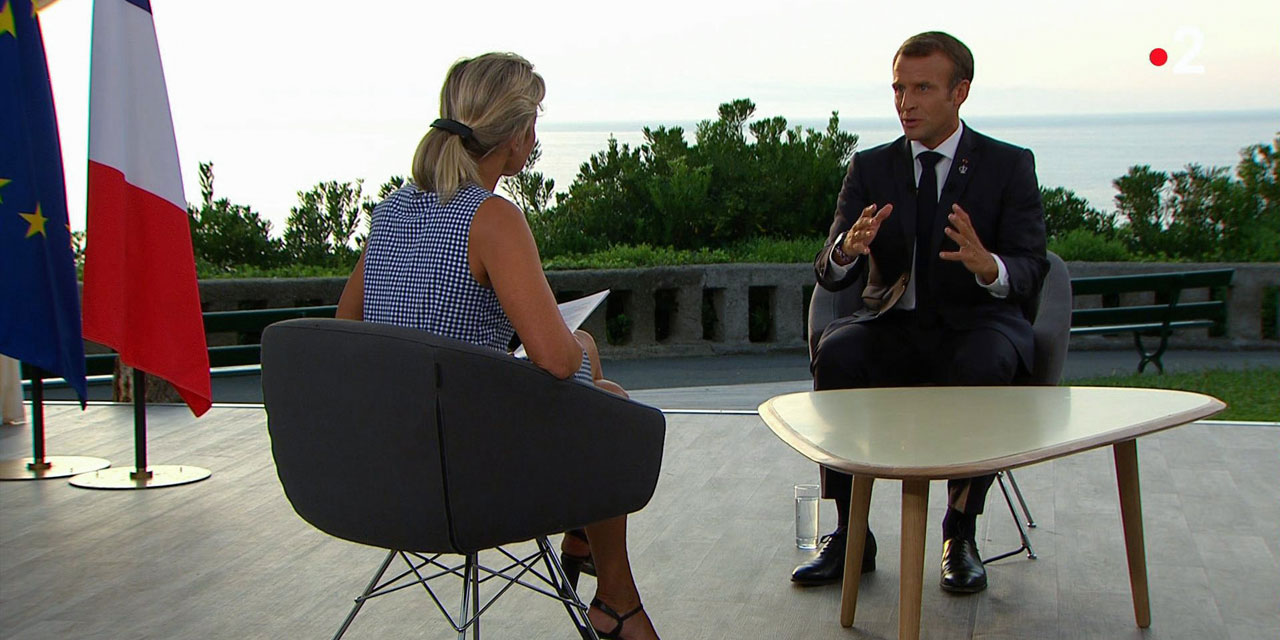 Interview On France 2 And Embedded Media Behind The Scenes Of Emmanuel Macron S Well Oiled Com At G7 Teller Report