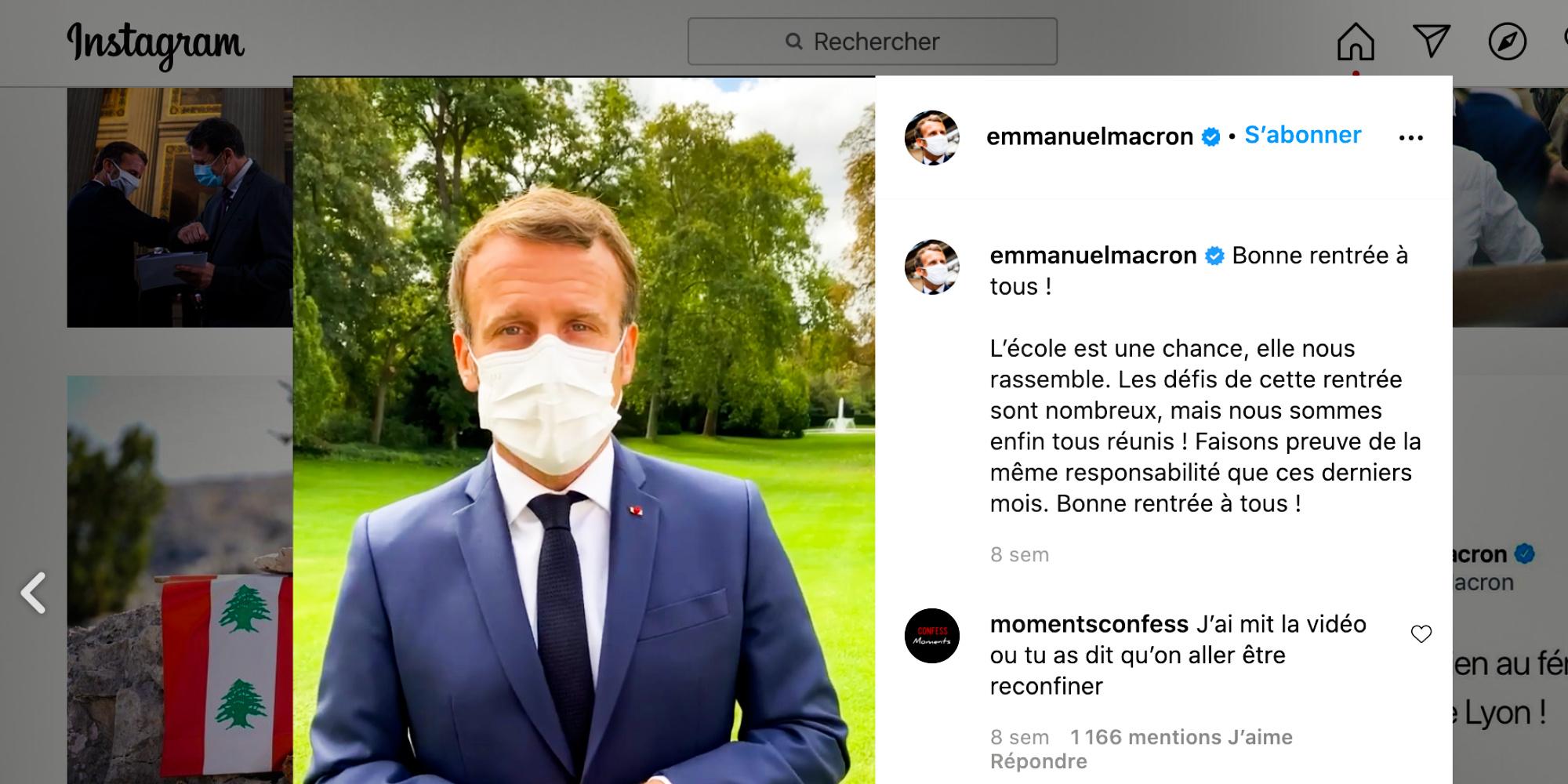 Melenchon On Tiktok Macron On Instagram It S Time For Politicians To Unbridle Teller Report