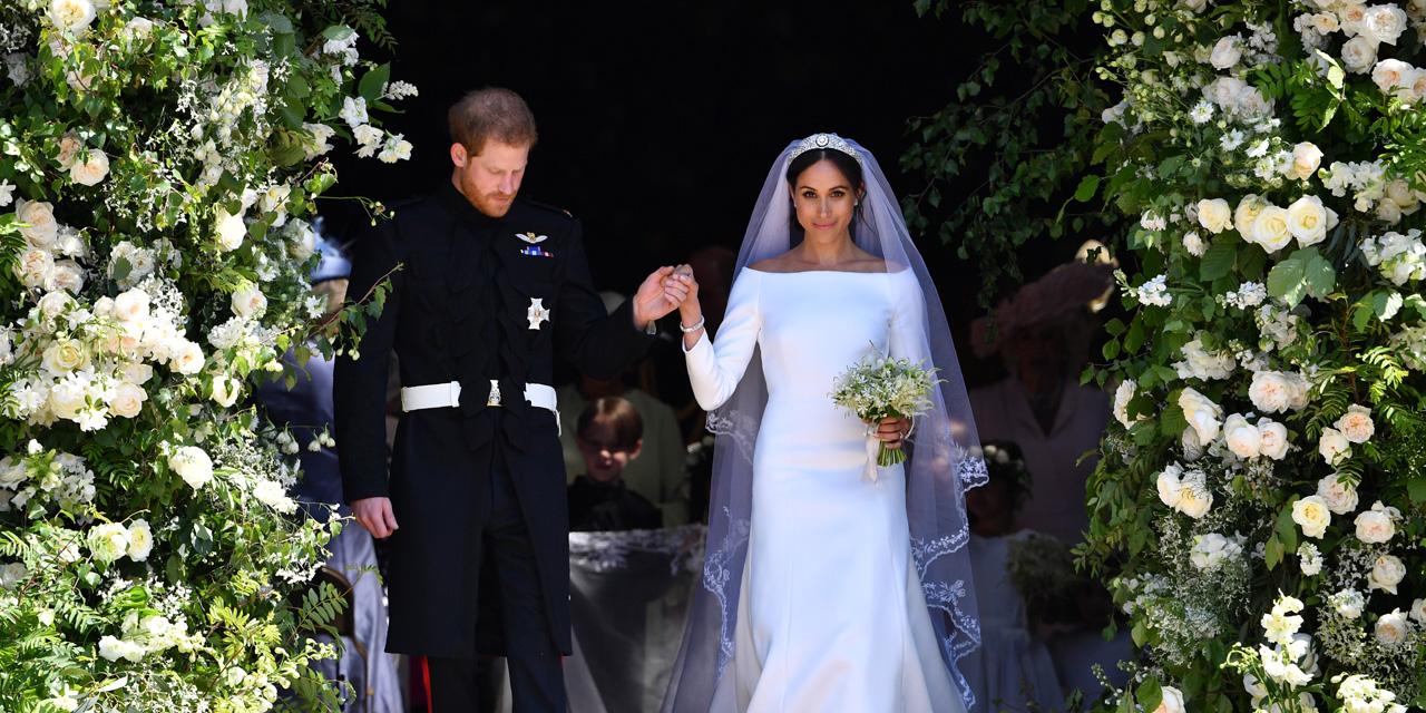 Robe de marie de la femme de harry