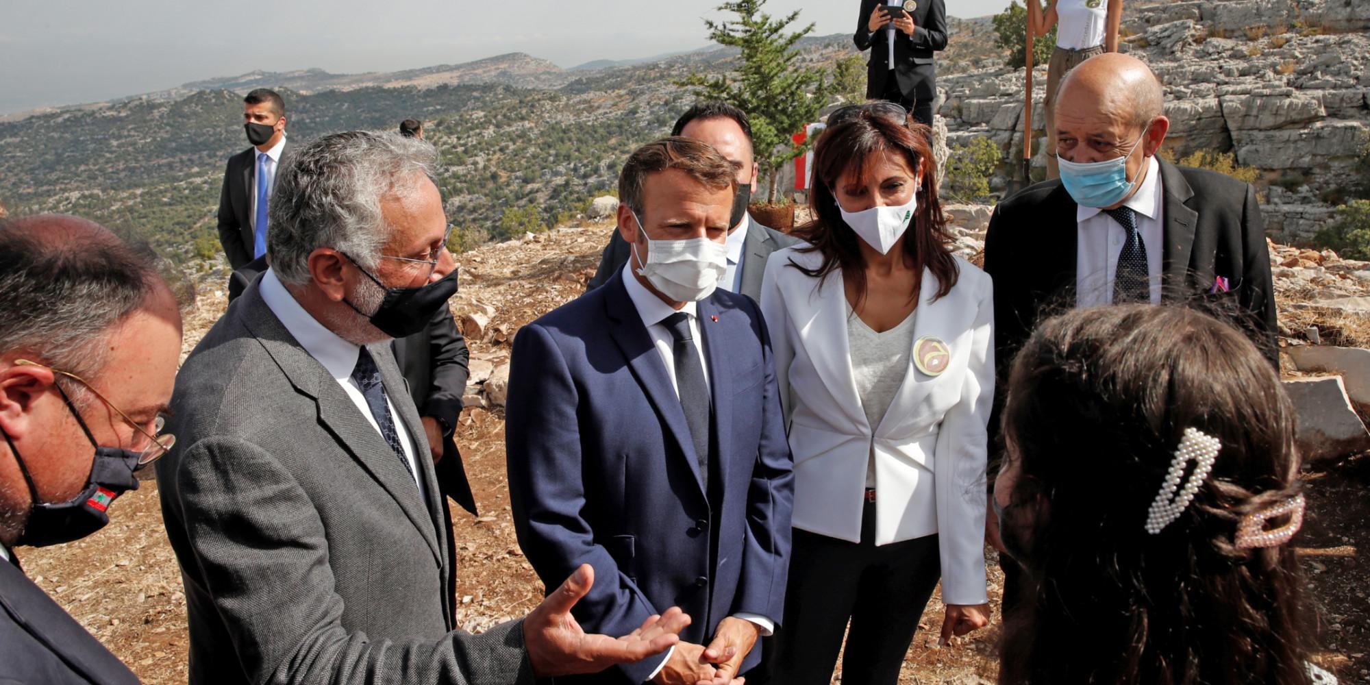 Back In Lebanon Emmanuel Macron Pleads For Better Aid Monitoring Teller Report