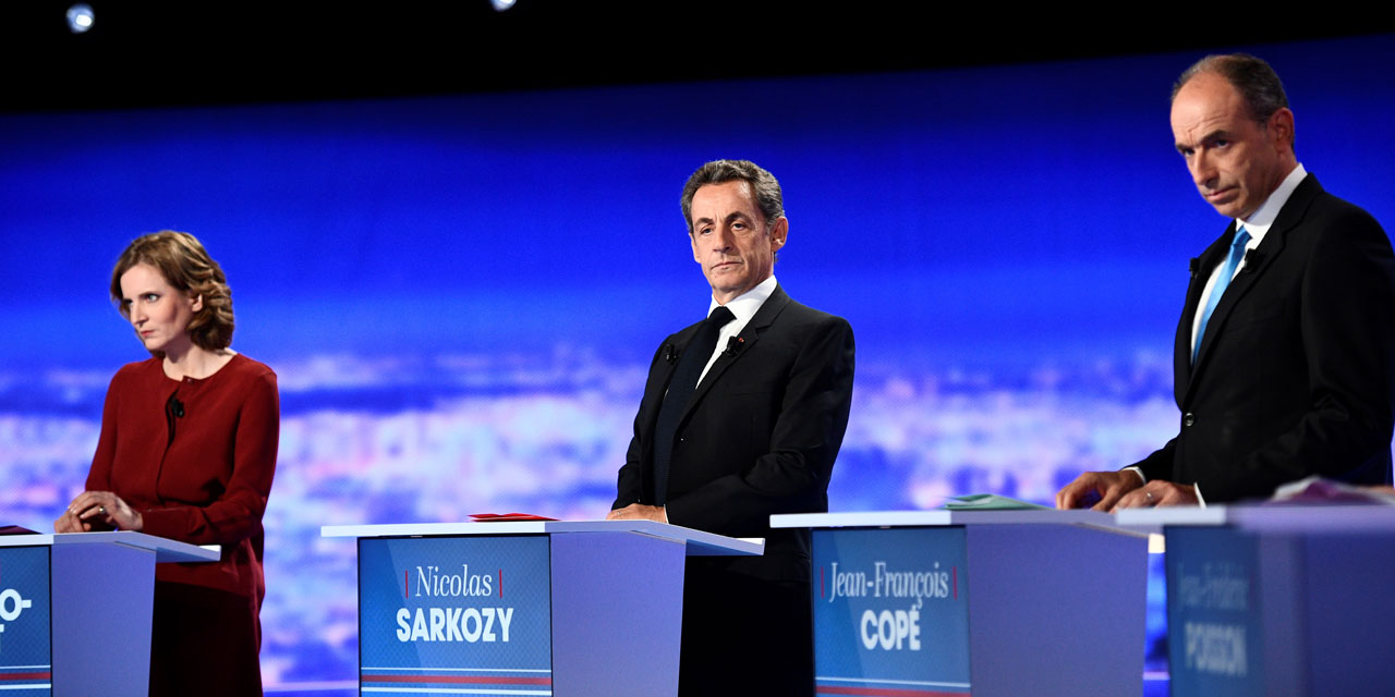Débat De La Primaire De Droite Sarkozy Au Centre Du Jeu Mais Isolé