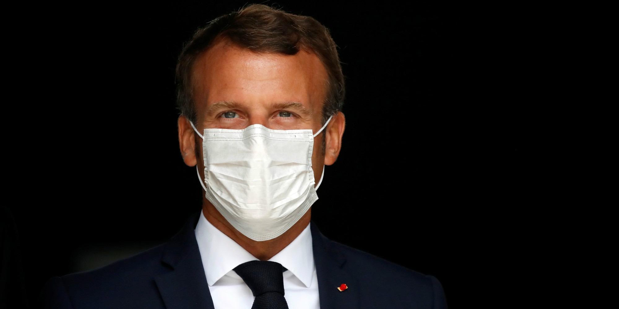 Emmanuel Macron s'est entretenu pour la première fois avec ...