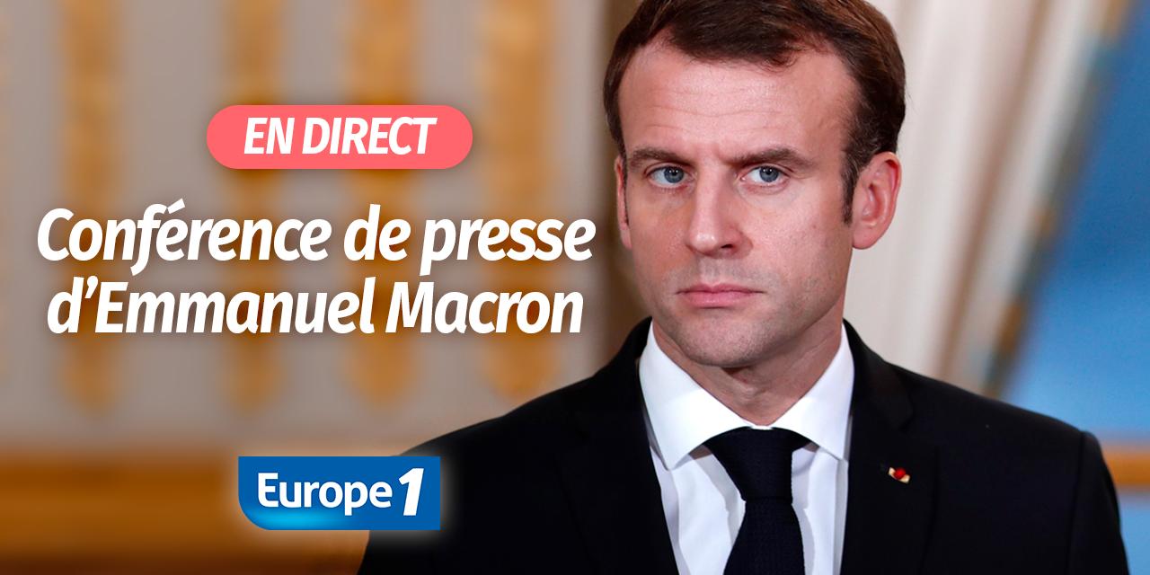 """Résultat de recherche d'images pour """"conference de presse Macron Elysee 25 avril"""""""