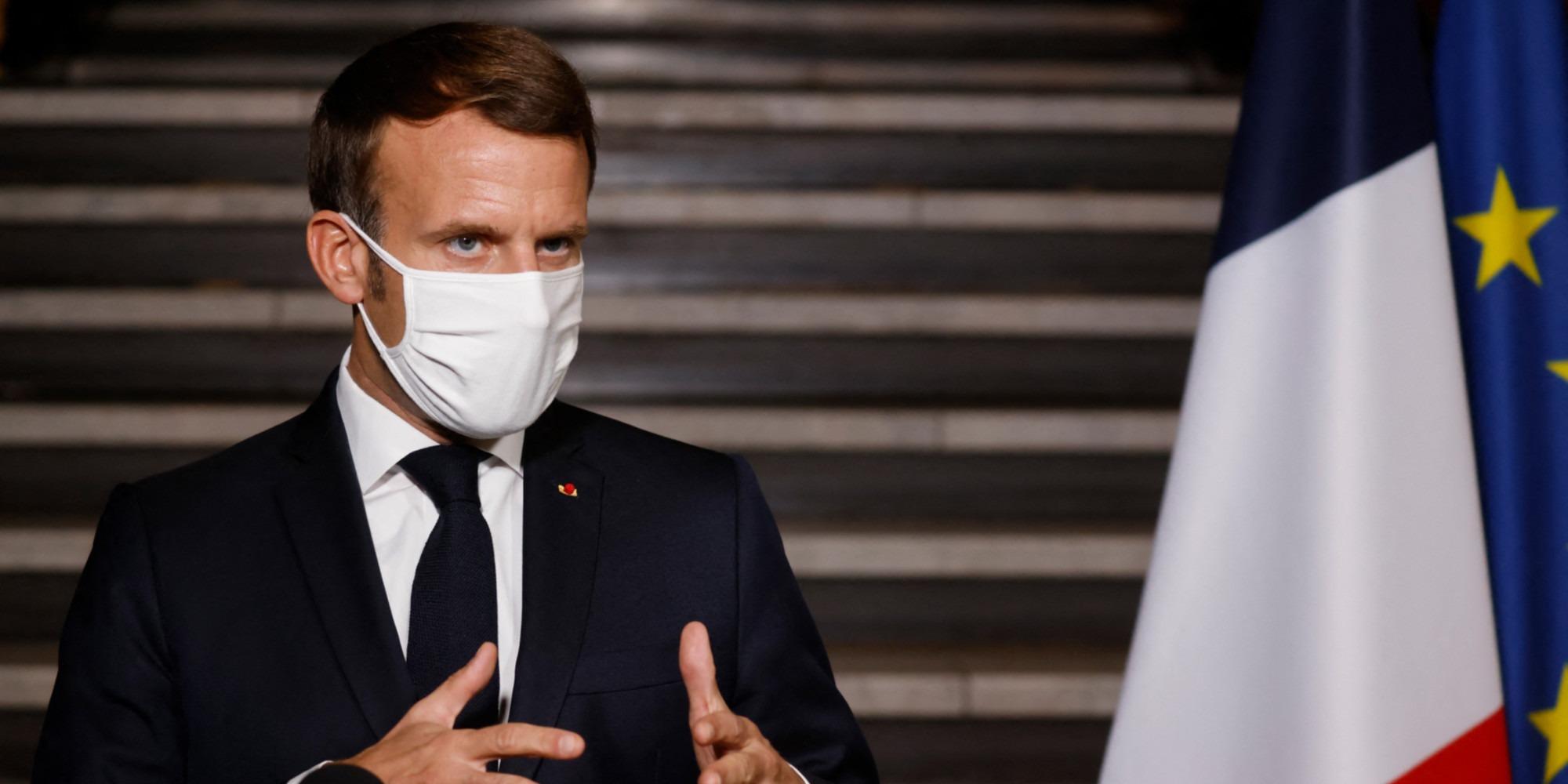 """Gifle : Macron dénonce des faits """"isolés"""" d'""""individus ultraviolents"""""""
