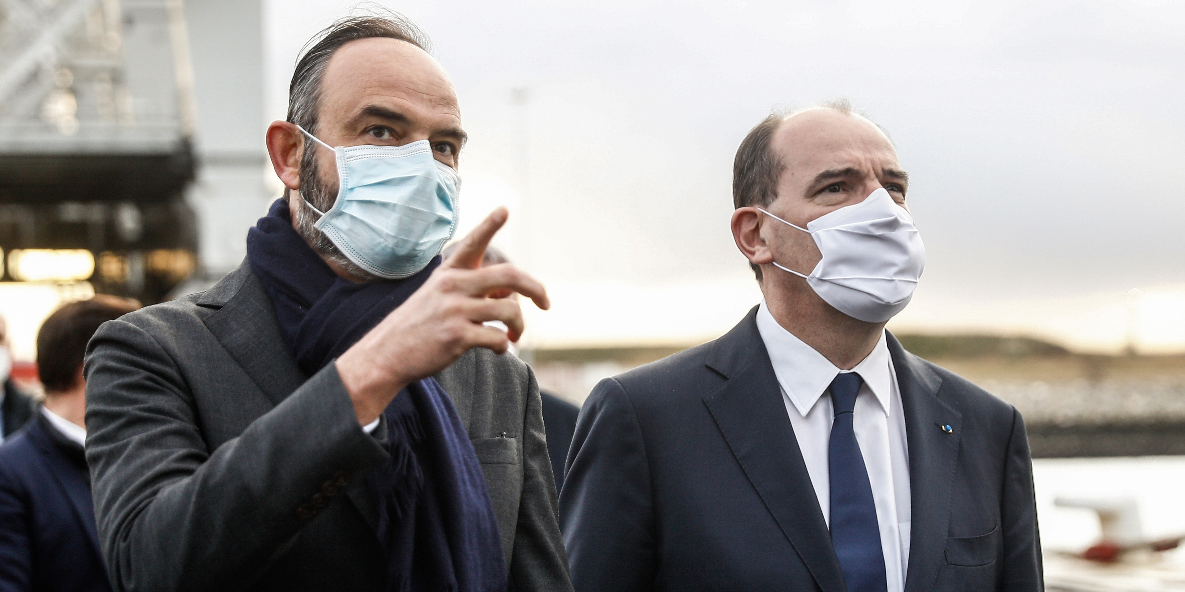 De sobres retrouvailles entre Jean Castex et Edouard Philippe au Havre