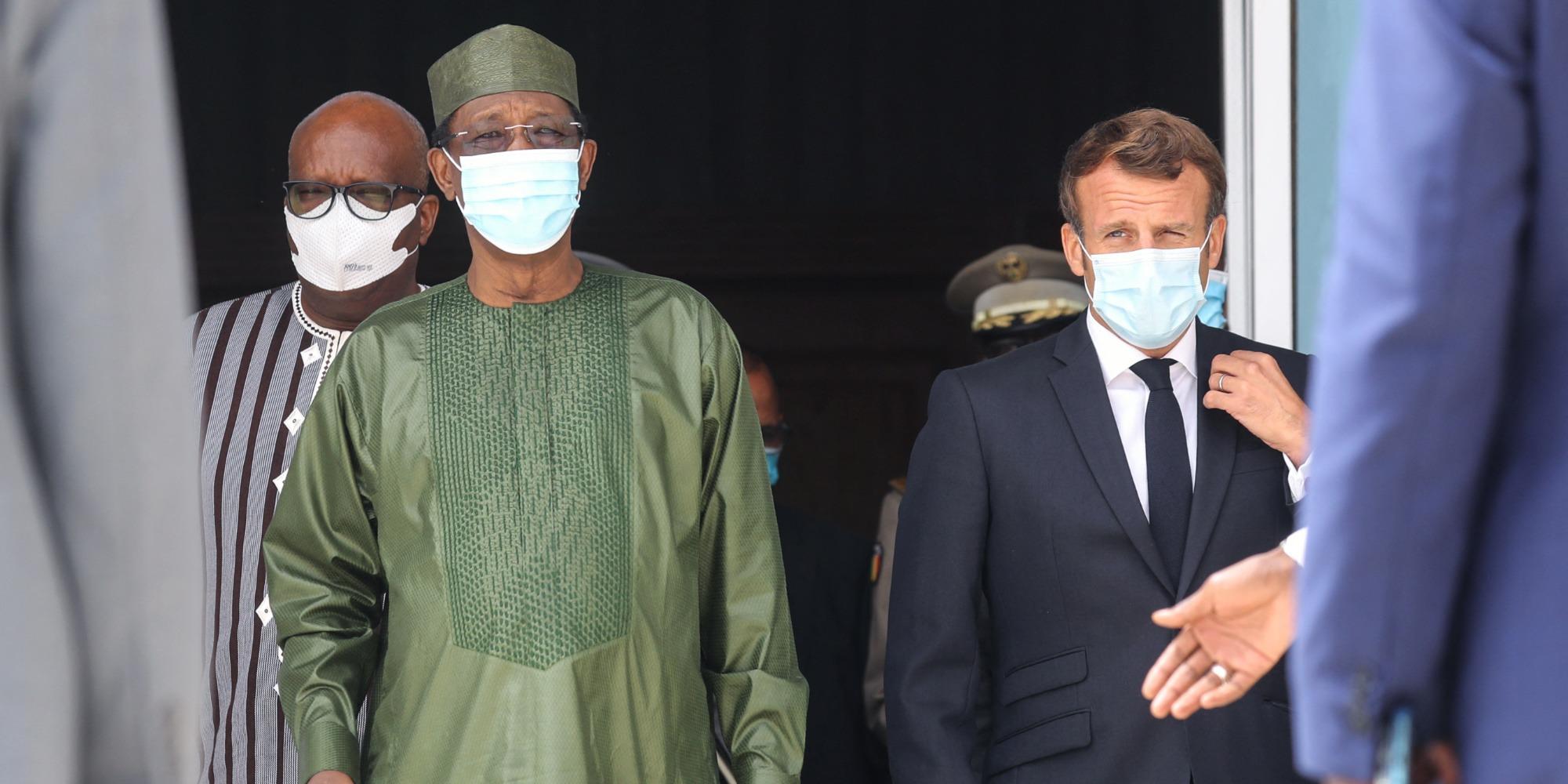 Macron se rendra aux obsèques du président tchadien Idriss Déby