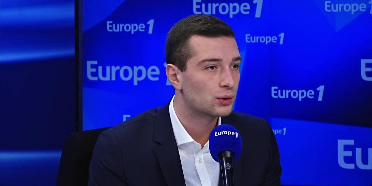 """Marine Le Pen déjà en campagne pour 2022 ? """"Un acte de franchise"""" pour Jordan Bardella"""