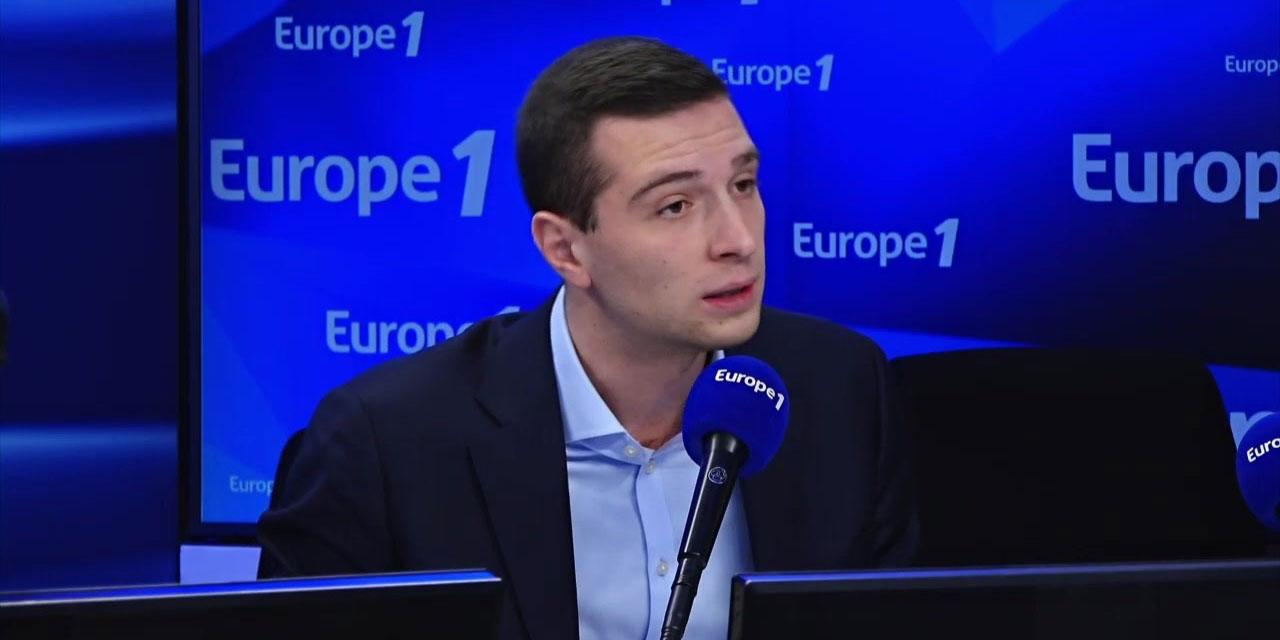 """Retraites : """"Il faut aller vers un référendum si les blocages persistent"""", demande Jordan Bardella"""