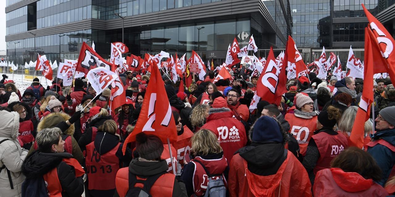 Samedi, Force ouvrière marche seule contre la réforme des retraites