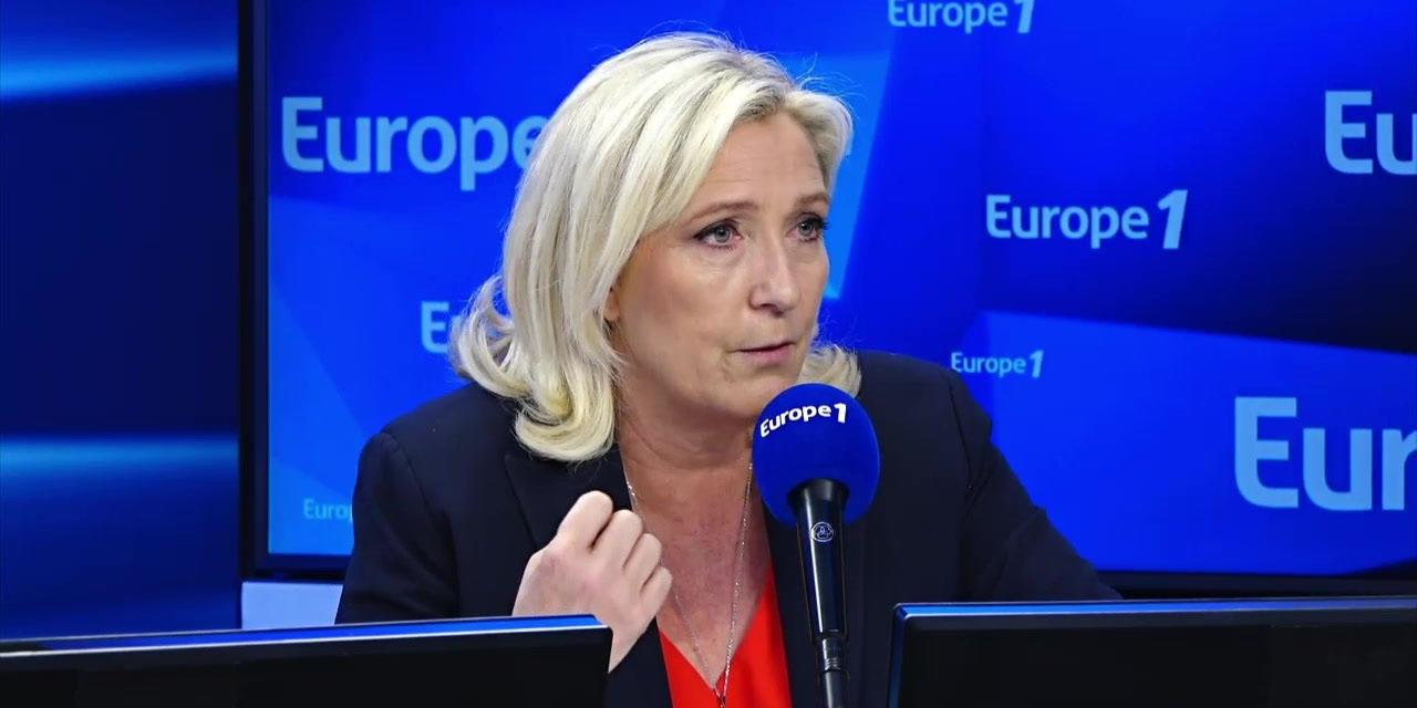 """Transfert des djihadistes français en Irak : """"Le gouvernement a raison"""", estime Marine Le Pen"""