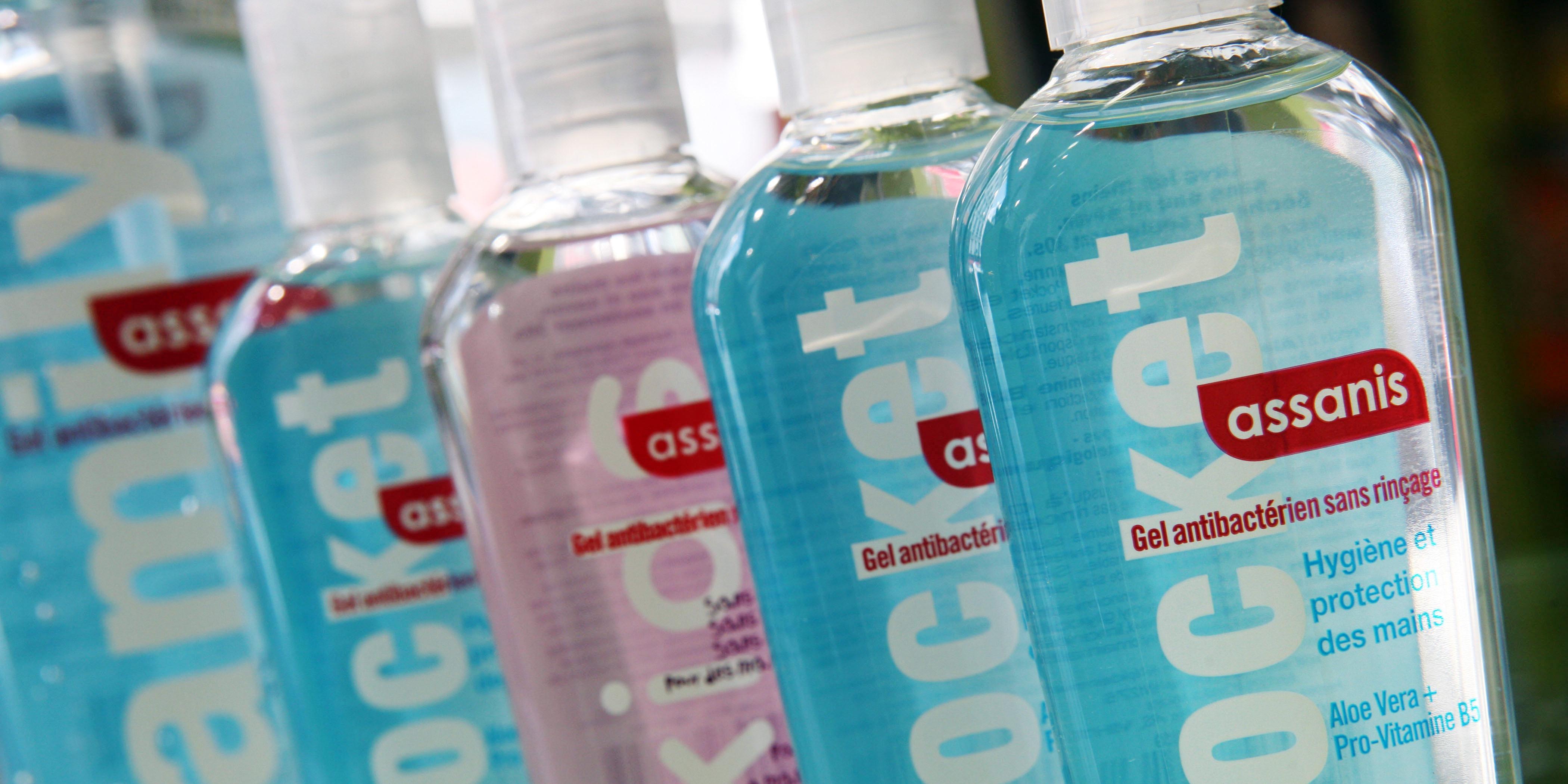 Gel Mains Hydroalcoolique Fraicheur 75ml Baccide Pharmacie Des