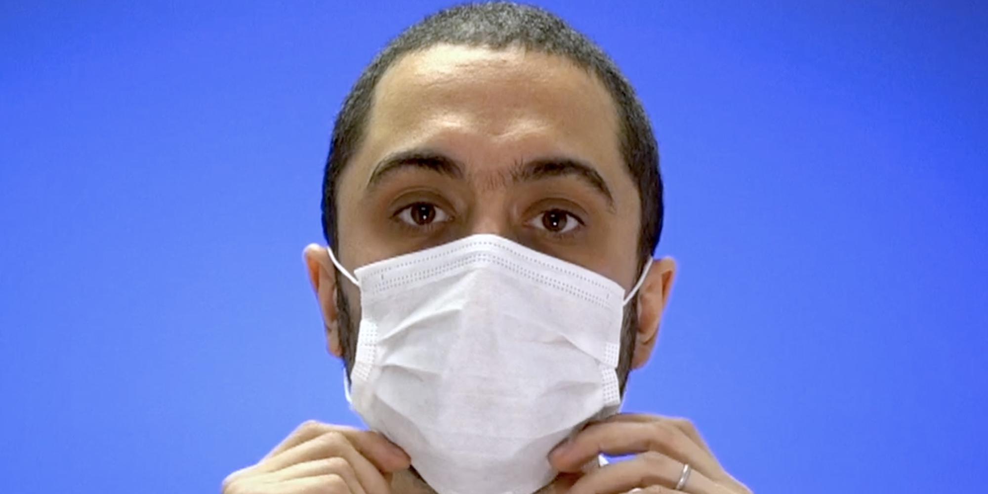 masque anti grippe ffp2