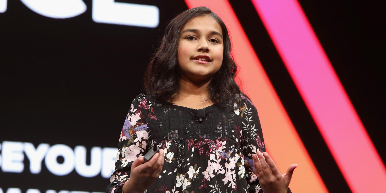 """Gitanjali Rao, désignée """"enfant de l'année"""" par le Time : """"J'ai toujours voulu en apprendre plus"""""""