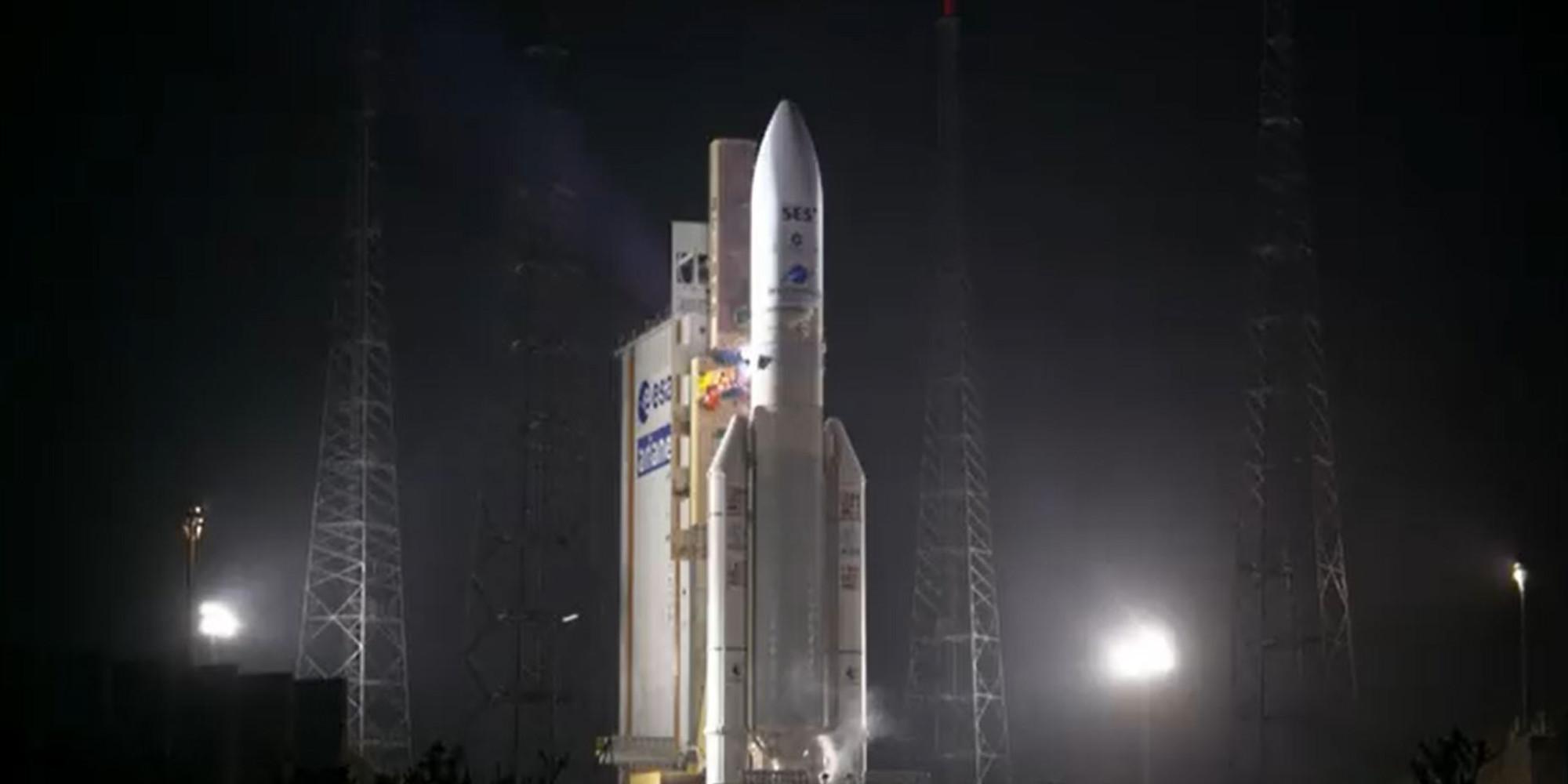 La France a placé en orbite un satellite de communication militaire dernière génération