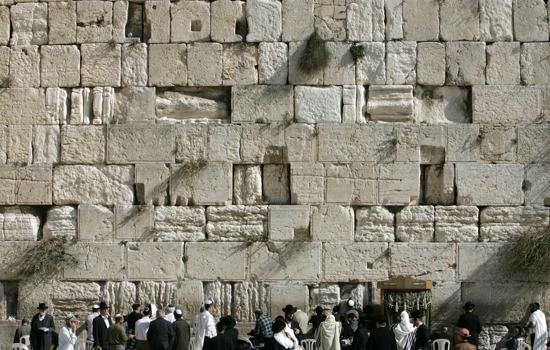 Mur Des Lamentations Le Roi Herode 1er Floue