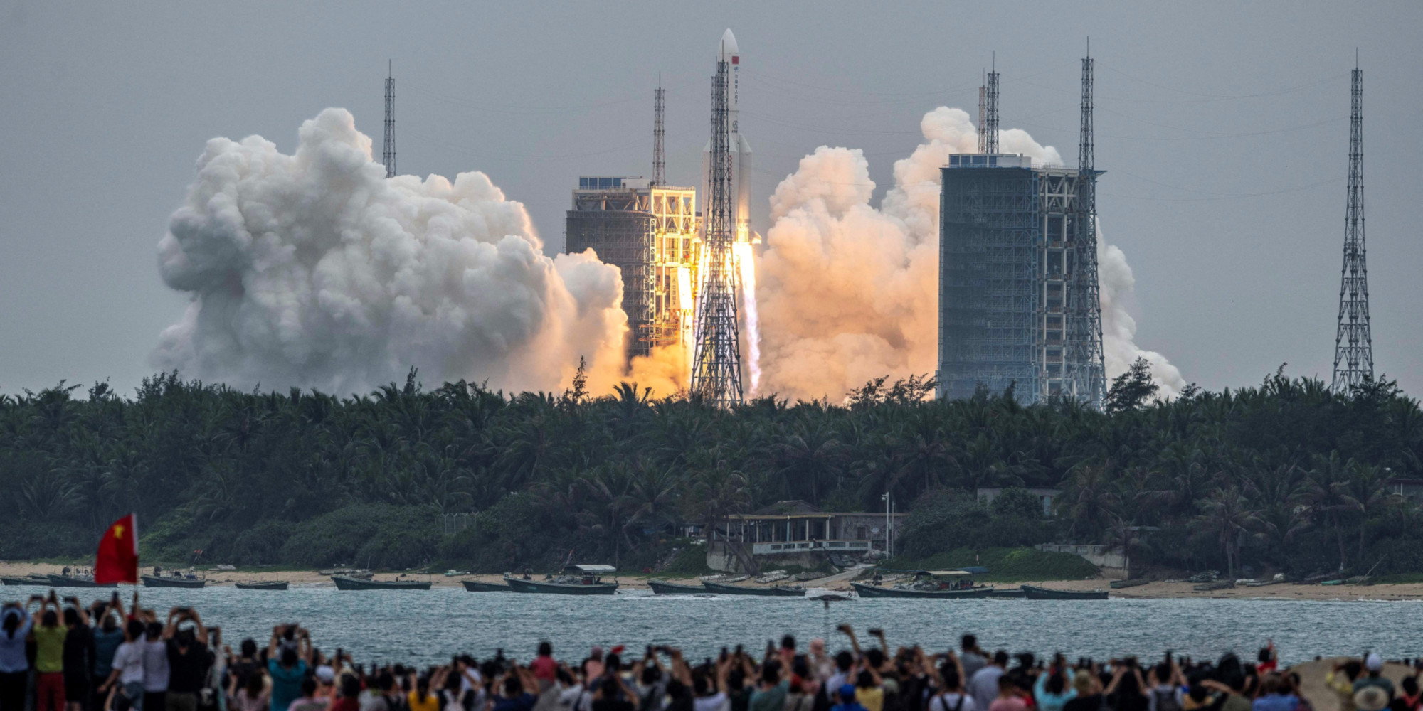 Une fusée chinoise s'apprête à faire un retour incontrôlé sur Terre