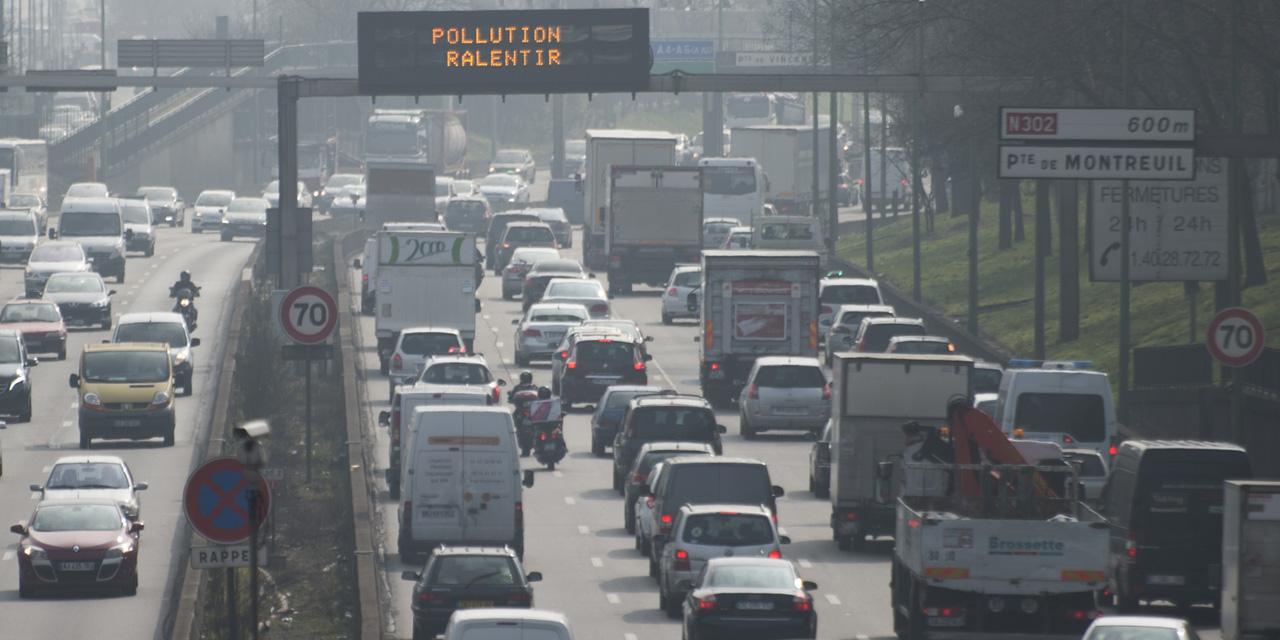 """Résultat de recherche d'images pour """"pollution voitures paris"""""""