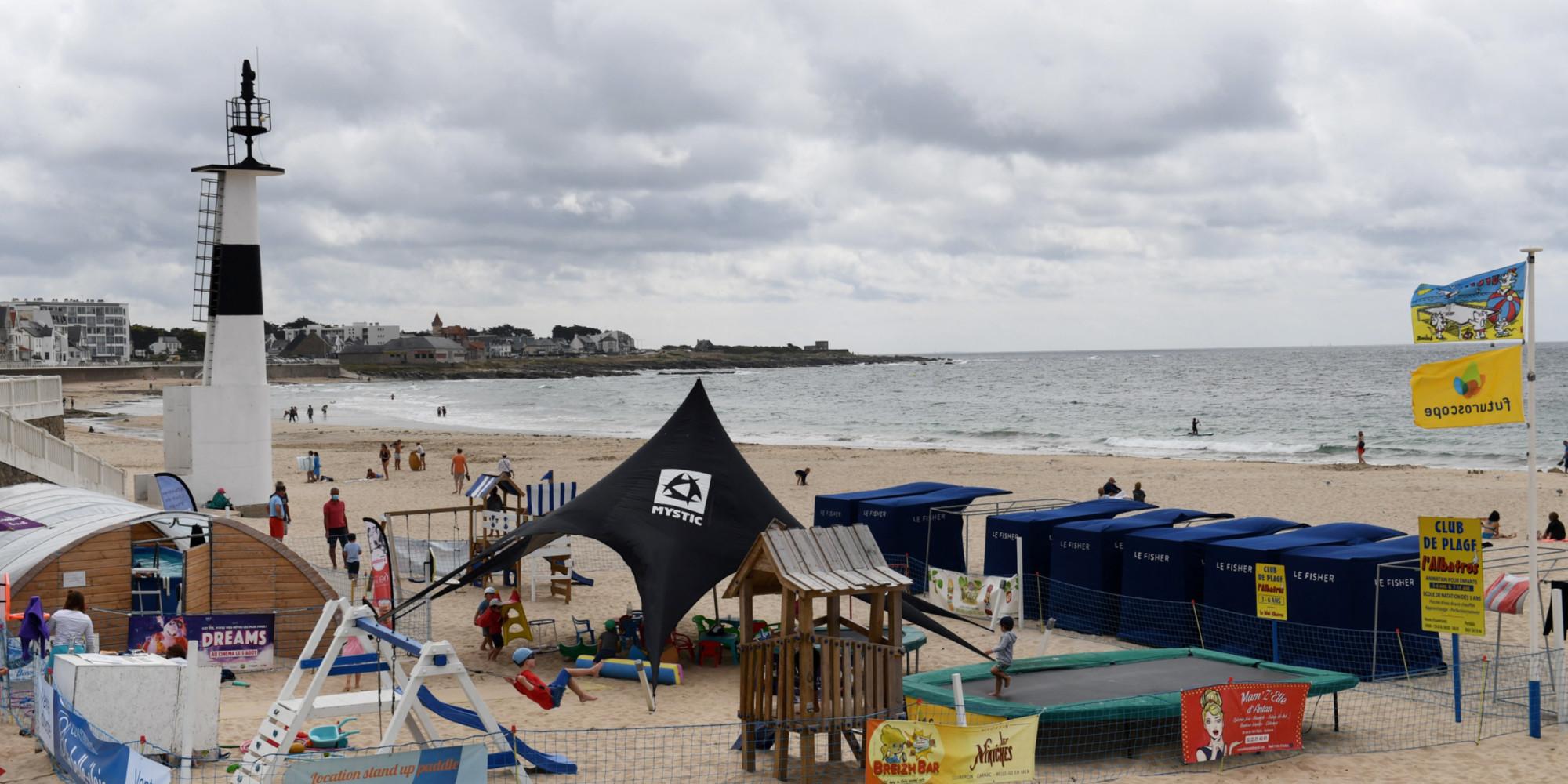 """""""C'est sauvage, c'est naturel"""" : pour cet été, de nombreux vacanciers ont choisi la Bretagne"""