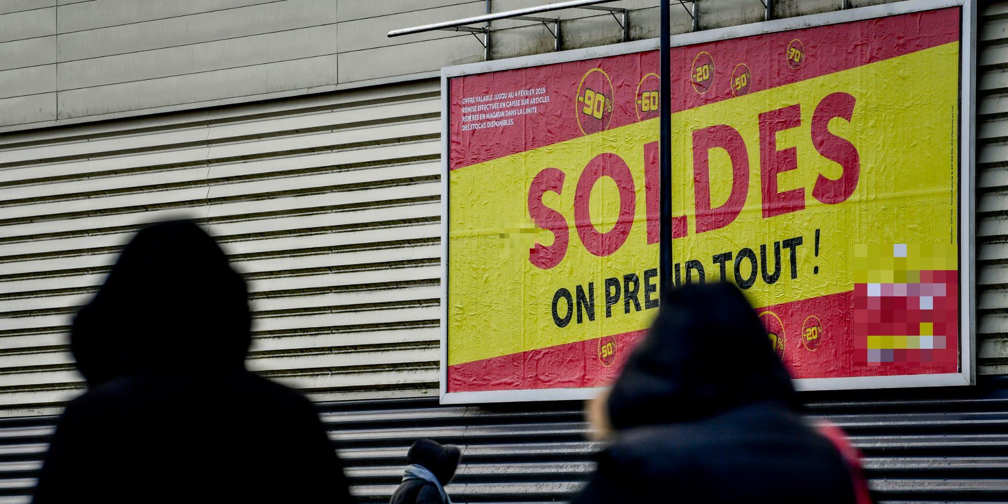 """Soldes décevants pour le secteur de l'habillement : """"Le couvre-feu aggrave la situation"""""""