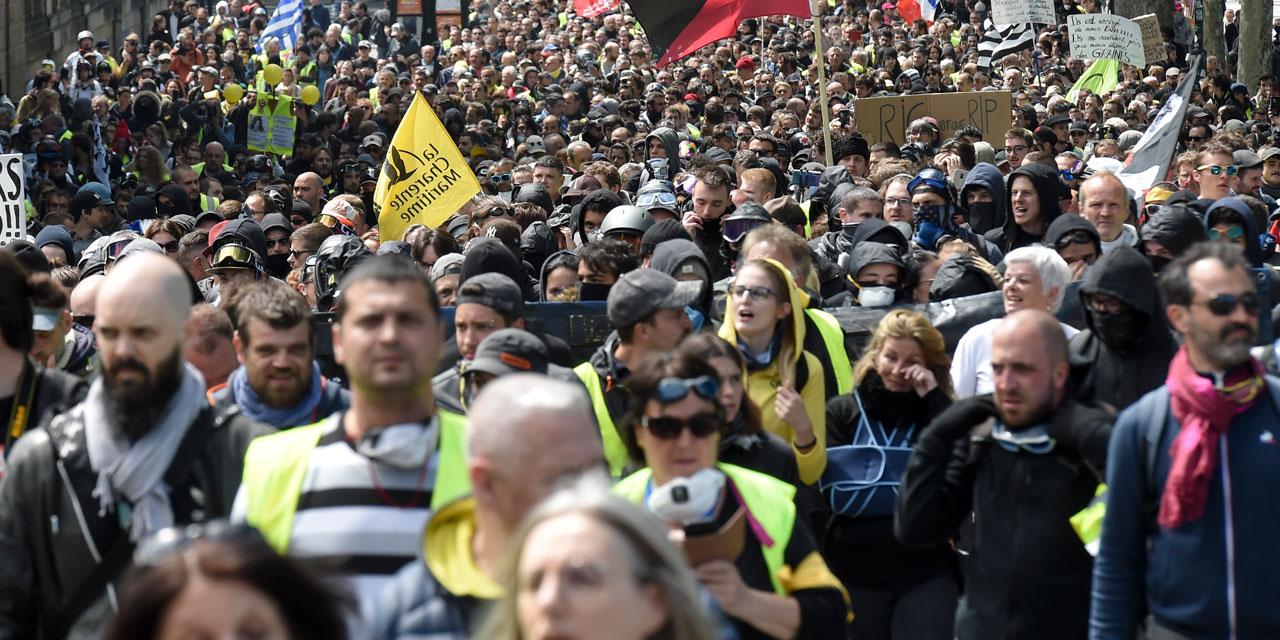 foto de L'ESSENTIEL Gilets jaunes : 18 600 manifestants en