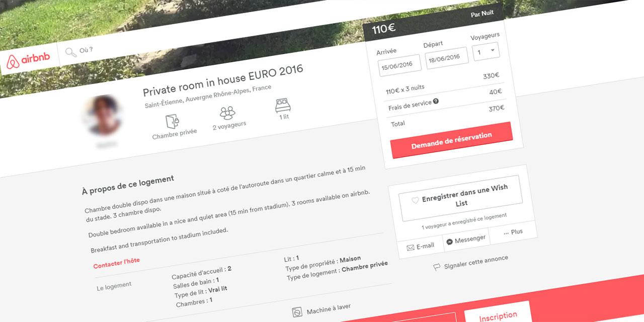 Euro 2016 Explosion Des Locations Et Des Prix Sur Airbnb